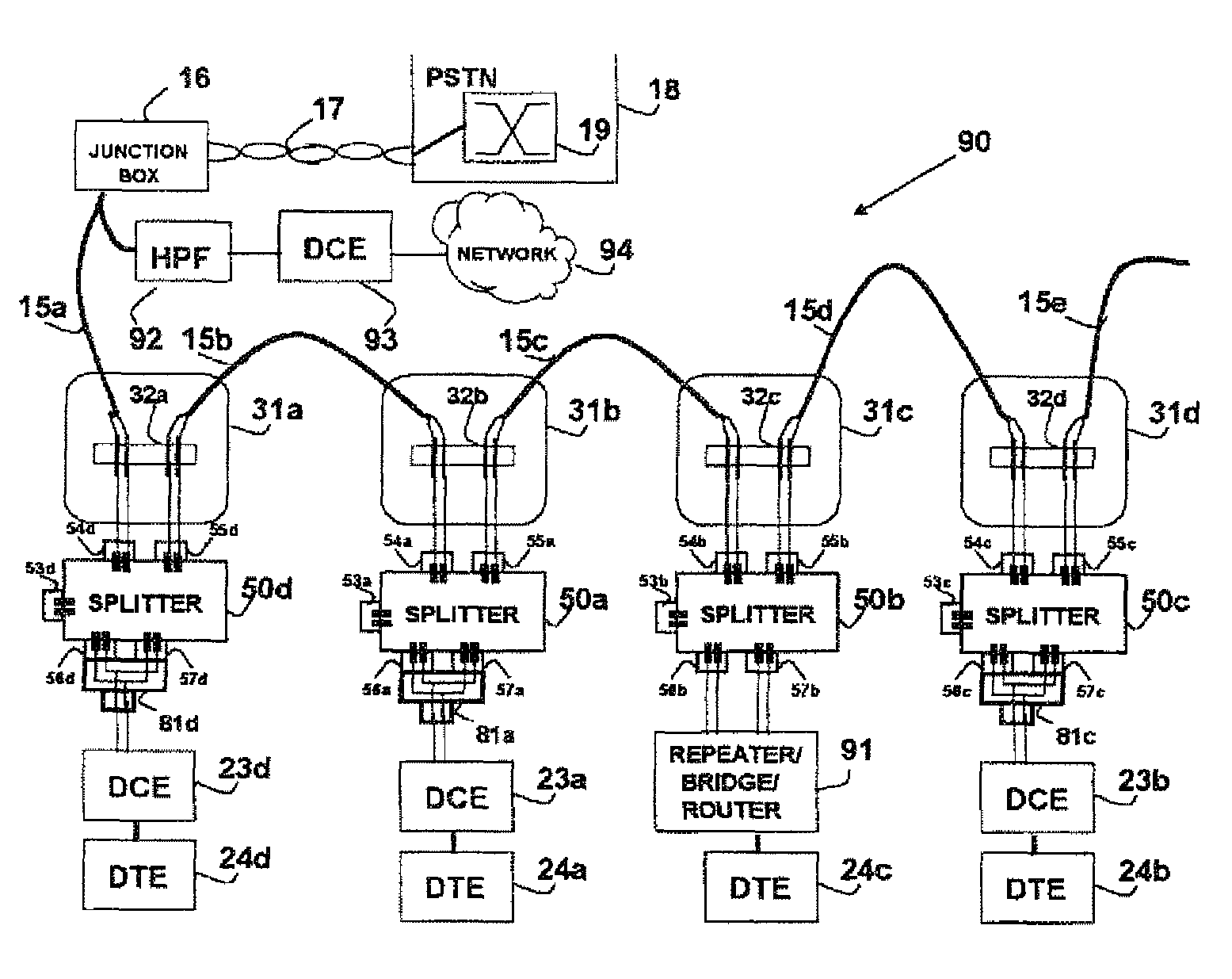 US08363797 20130129 D00000 patent us8363797 telephone outlet for implementing a local area,Wiring Phone Lines