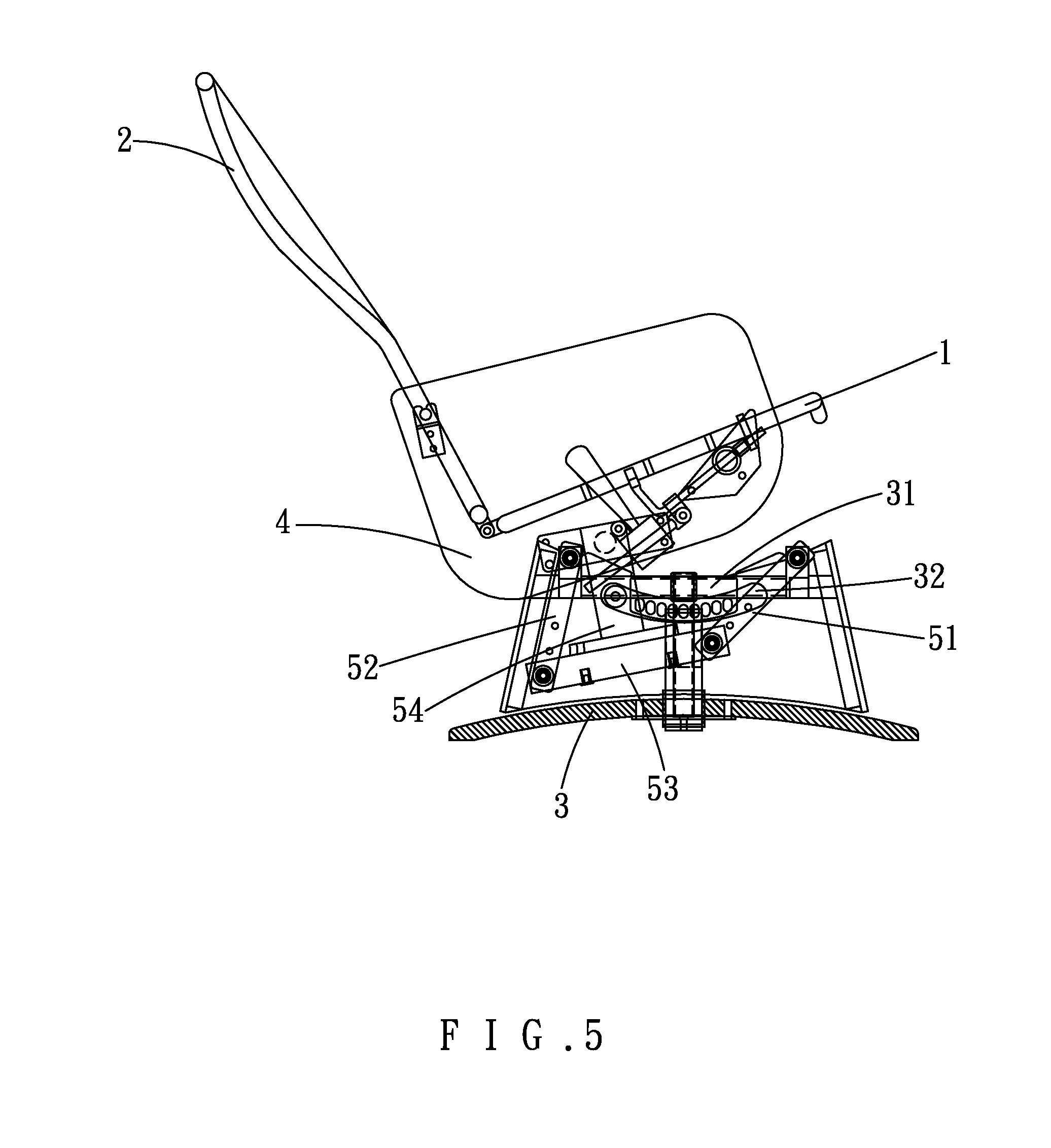 Patent US Leisure rocking chair Google Patents