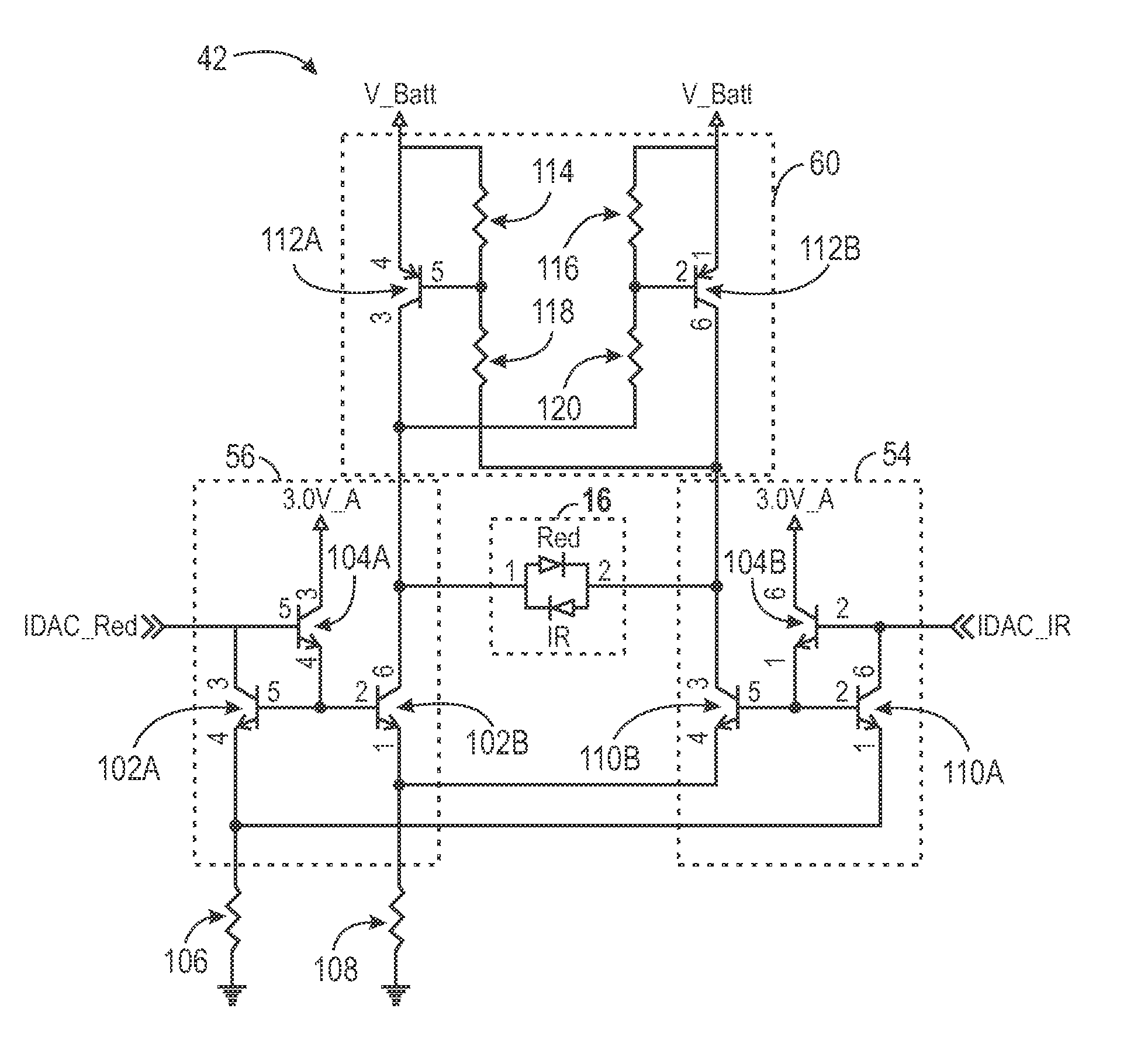 patent us8366613 - led drive circuit for pulse oximetry and method for using same