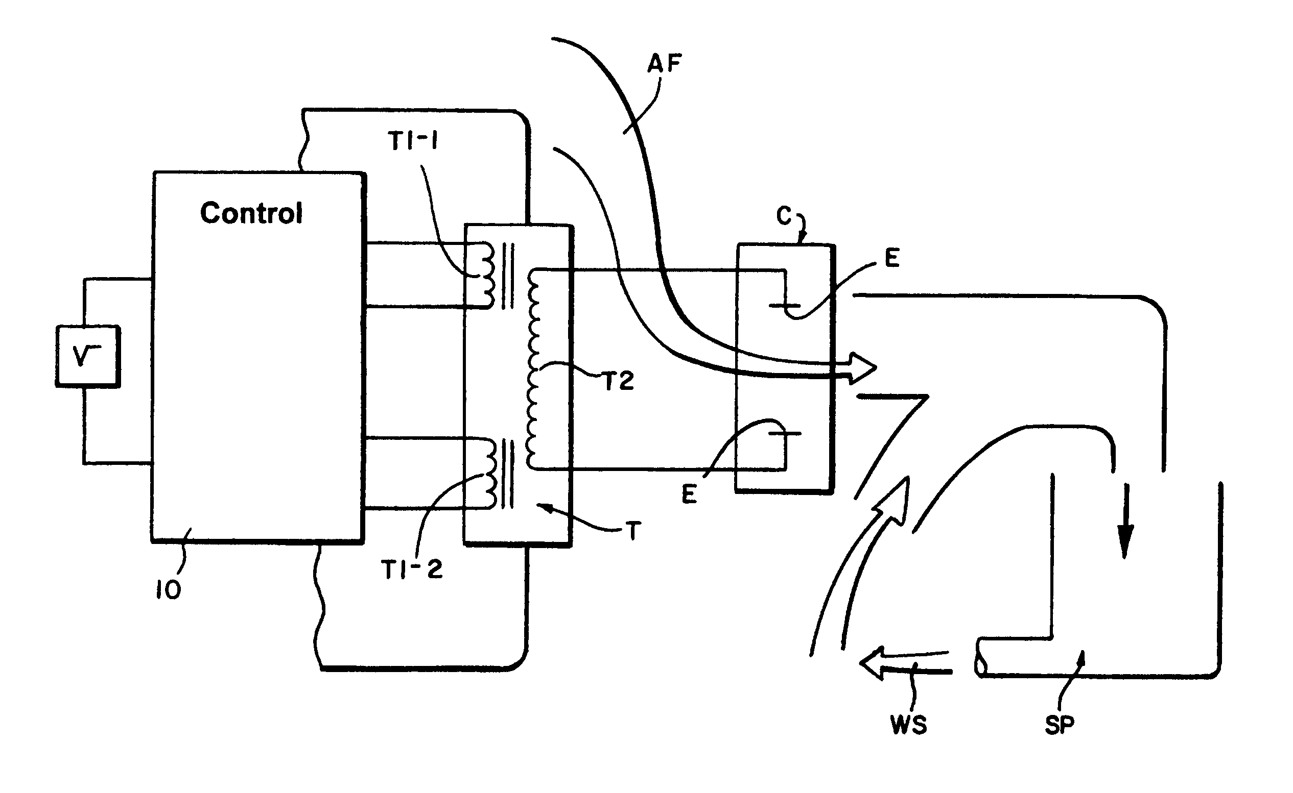 patent us8367007 - feedback stabilized ozone generator circuit