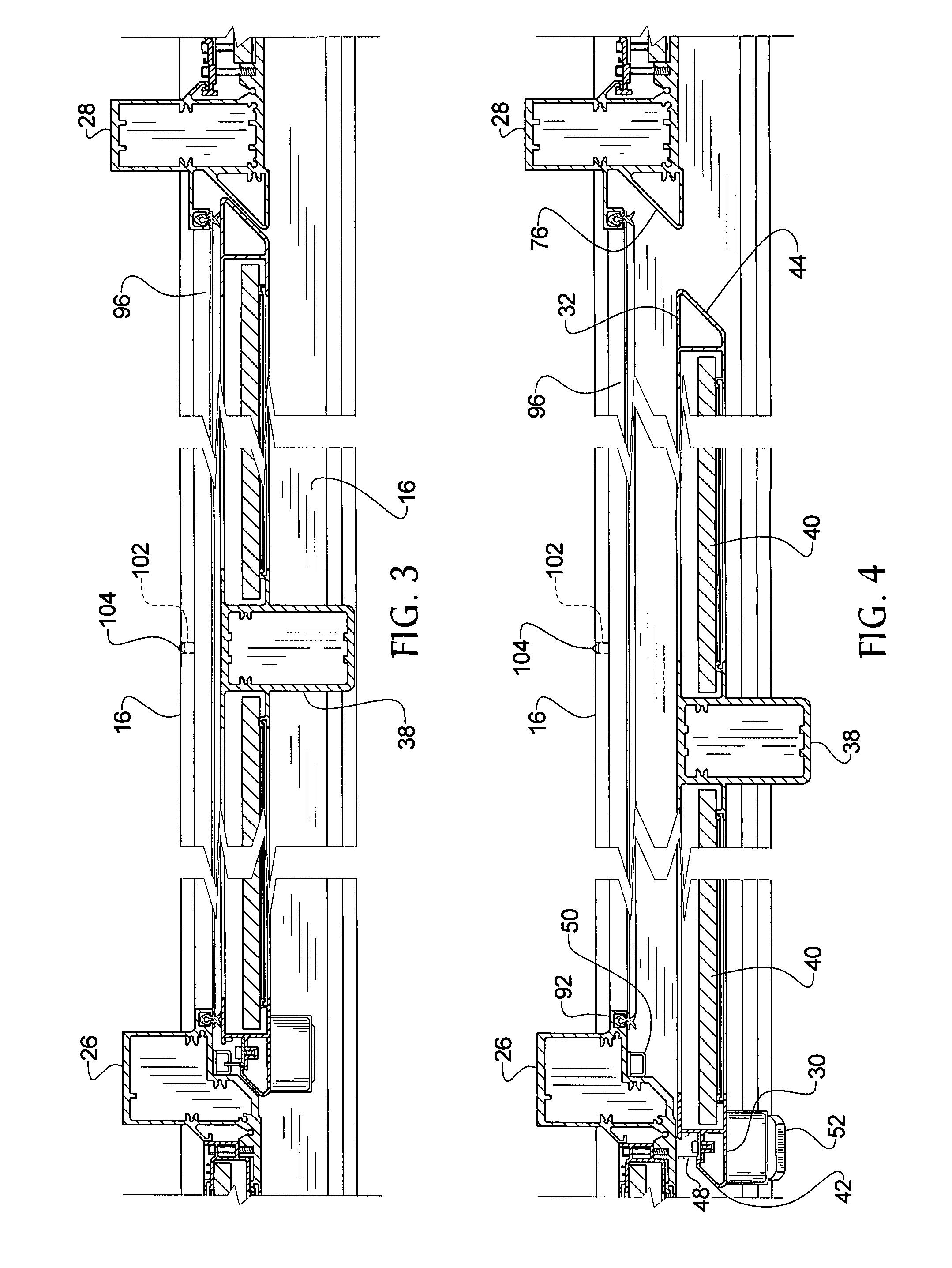 Patent Us8381444 Sliding Door Assembly Google Patenten
