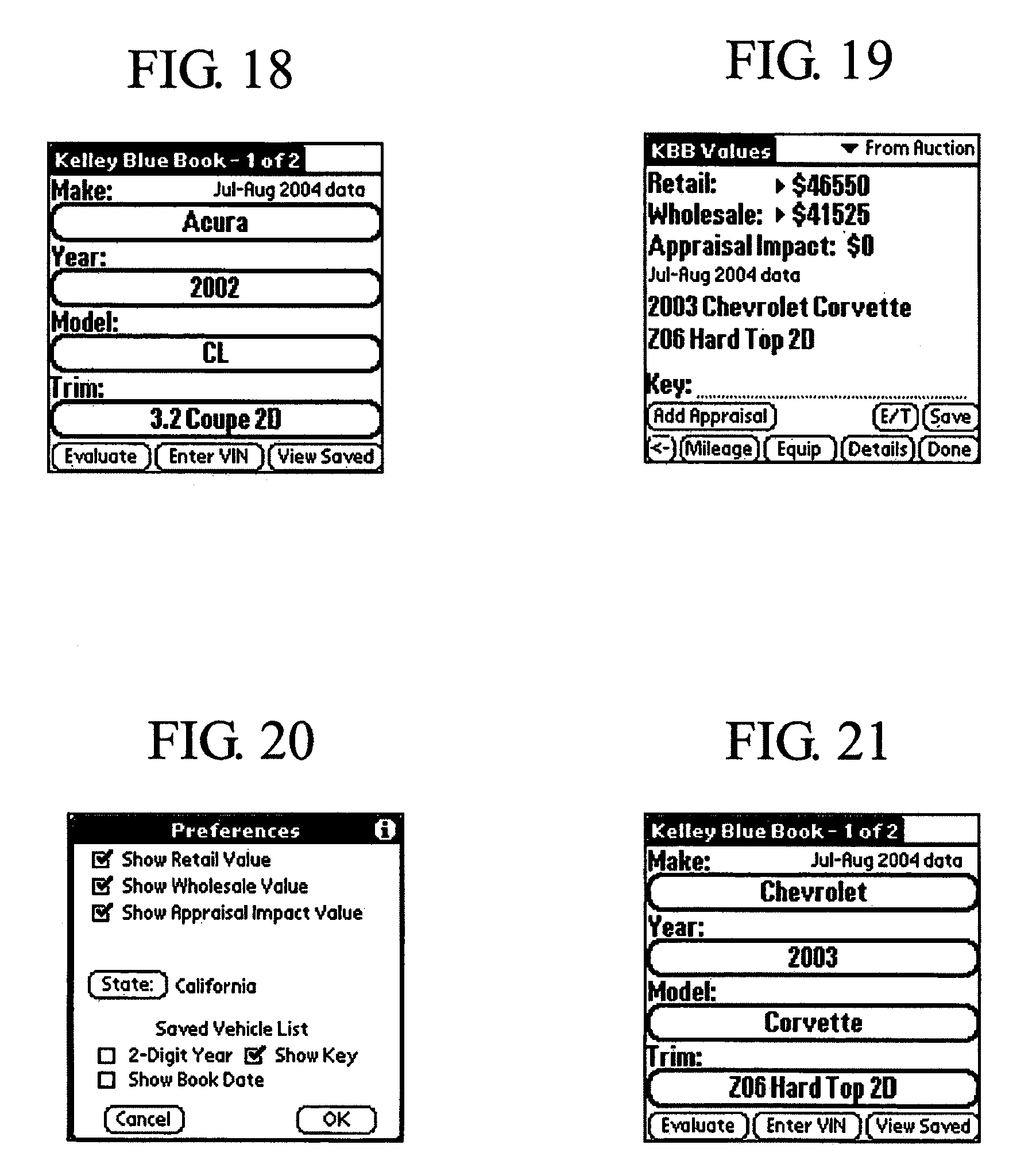 Patent US Method for providing vehicle information at a