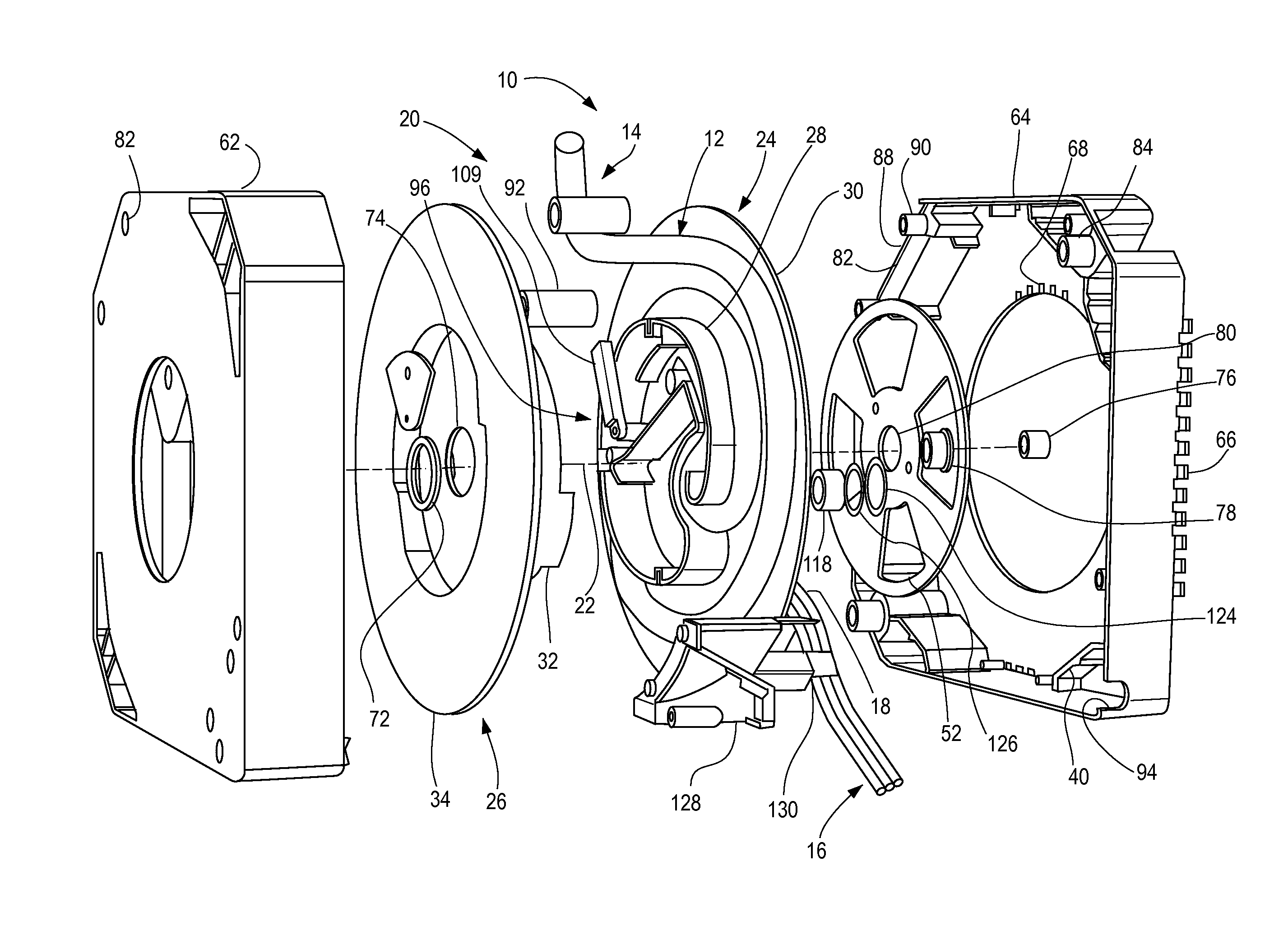 Patent Us8387763 Retractable Cord Reel Google Patents