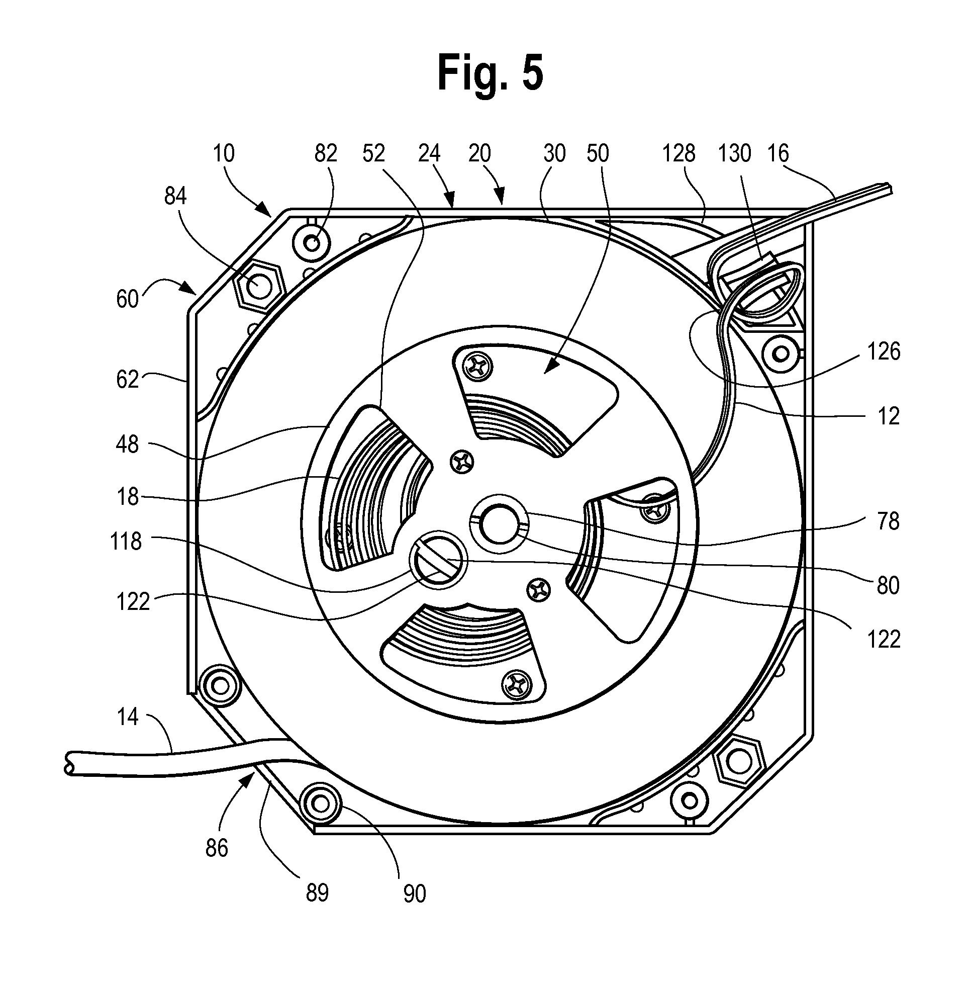 patent us8387763 - retractable cord reel