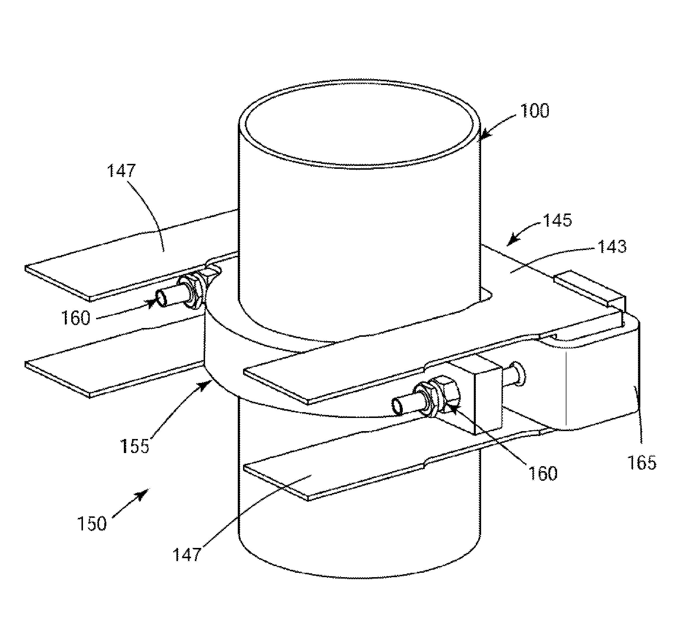 Patent Us8391437 - Jet Pump Riser Brace Clamp