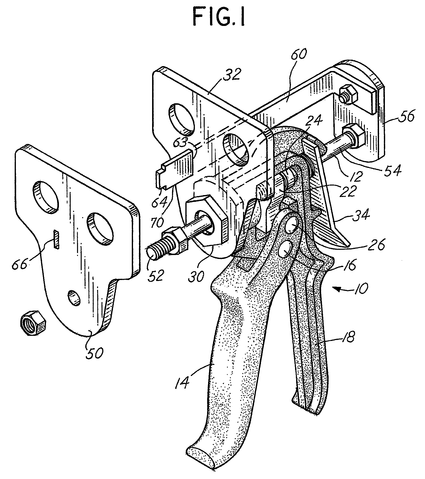 patent us8393063 brake pad spreader tool for disc brake assemblies 2 4 Liter Chevy Engine Wires for the Starter Motor patent drawing