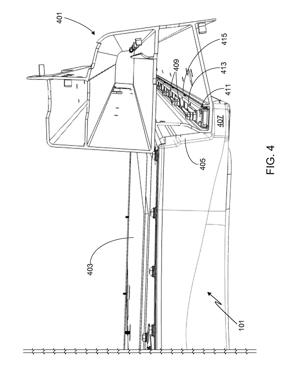 patent us8393427 vehicle battery pack ballistic shield google patent drawing