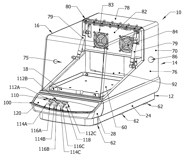 patent us8393781 - incubating orbital shaker