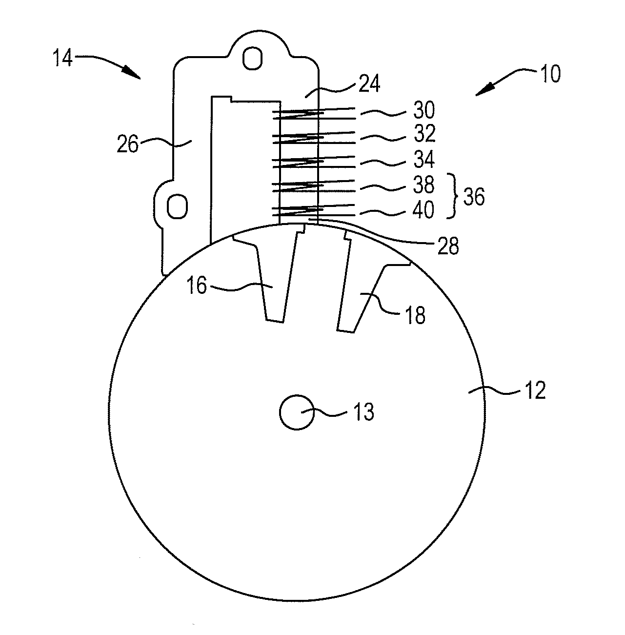 patent us8397702 - control circuit for capacitor discharge ignition system