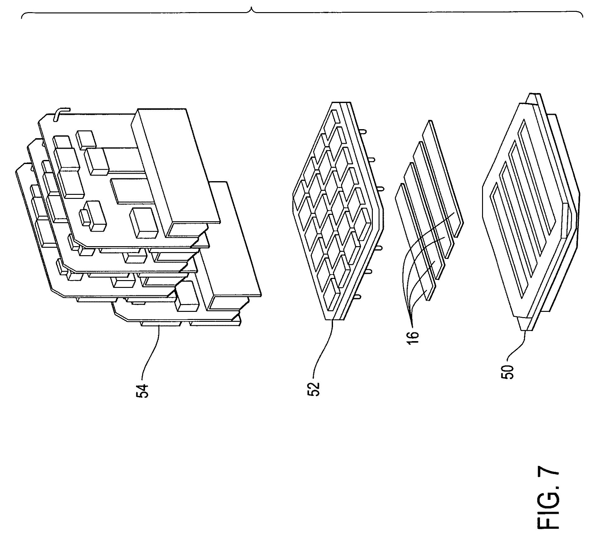 patent us8400539 - high density composite focal plane array