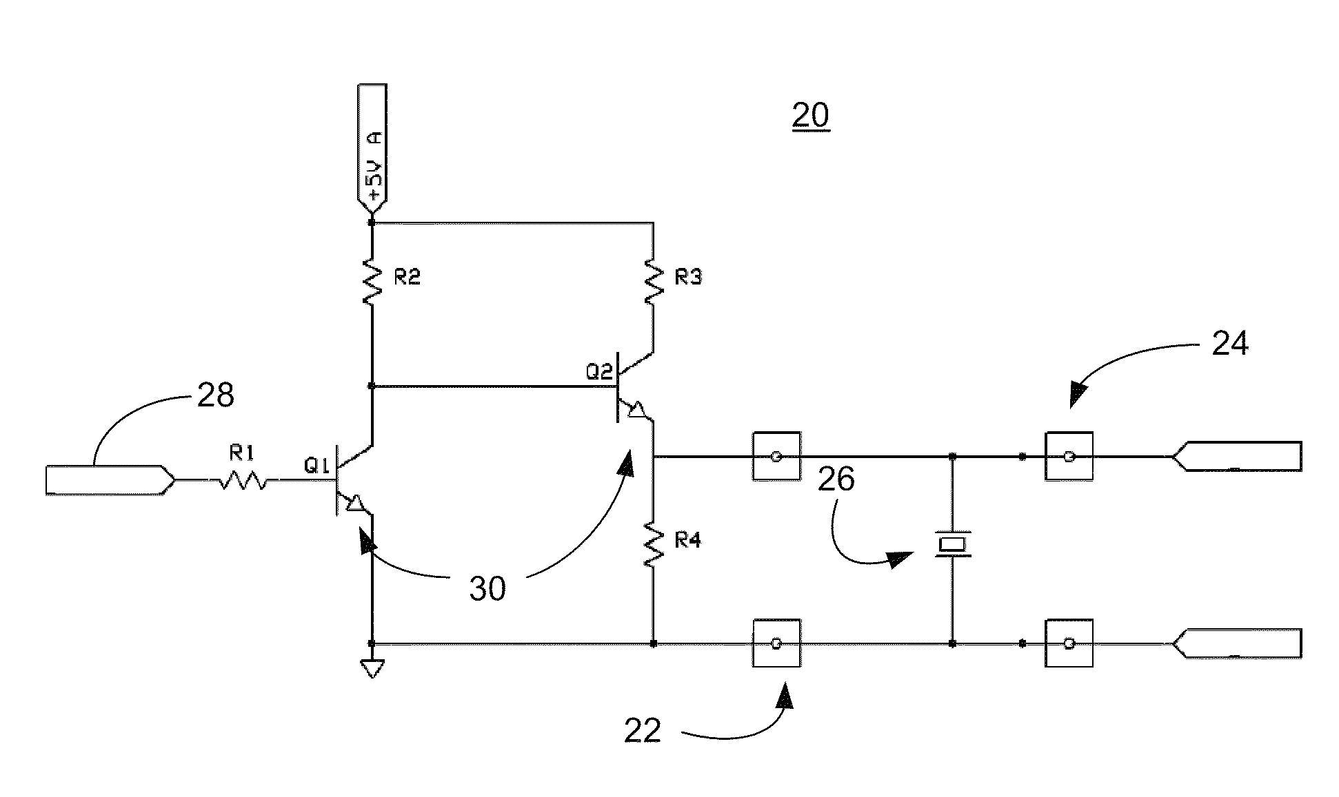 Patent Us8401820 In Situ Health Monitoring Of Piezoelectric Pc Heat Monitor Circuit Sensor Drawing