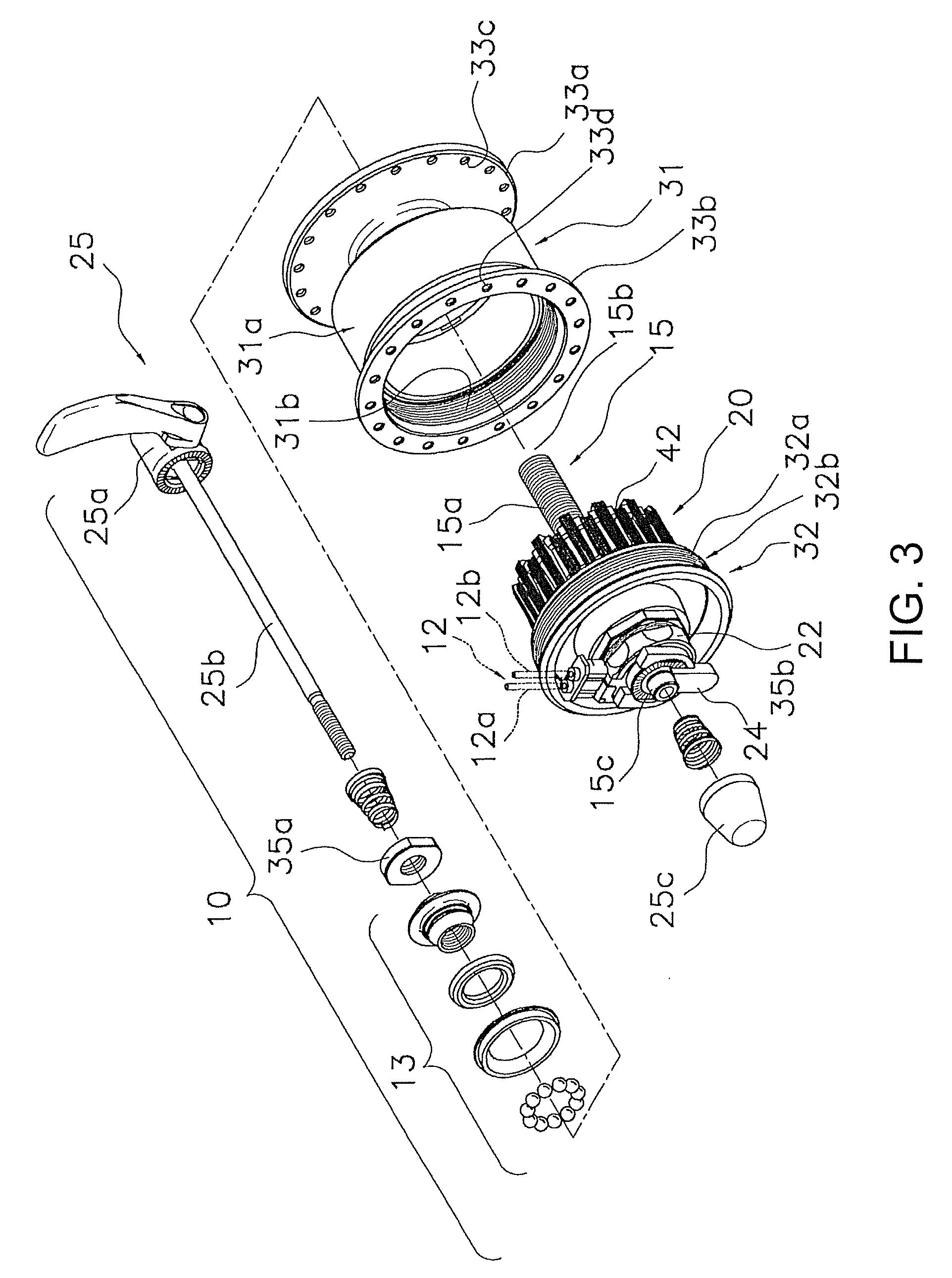 patent us8405263 - bicycle generator hub