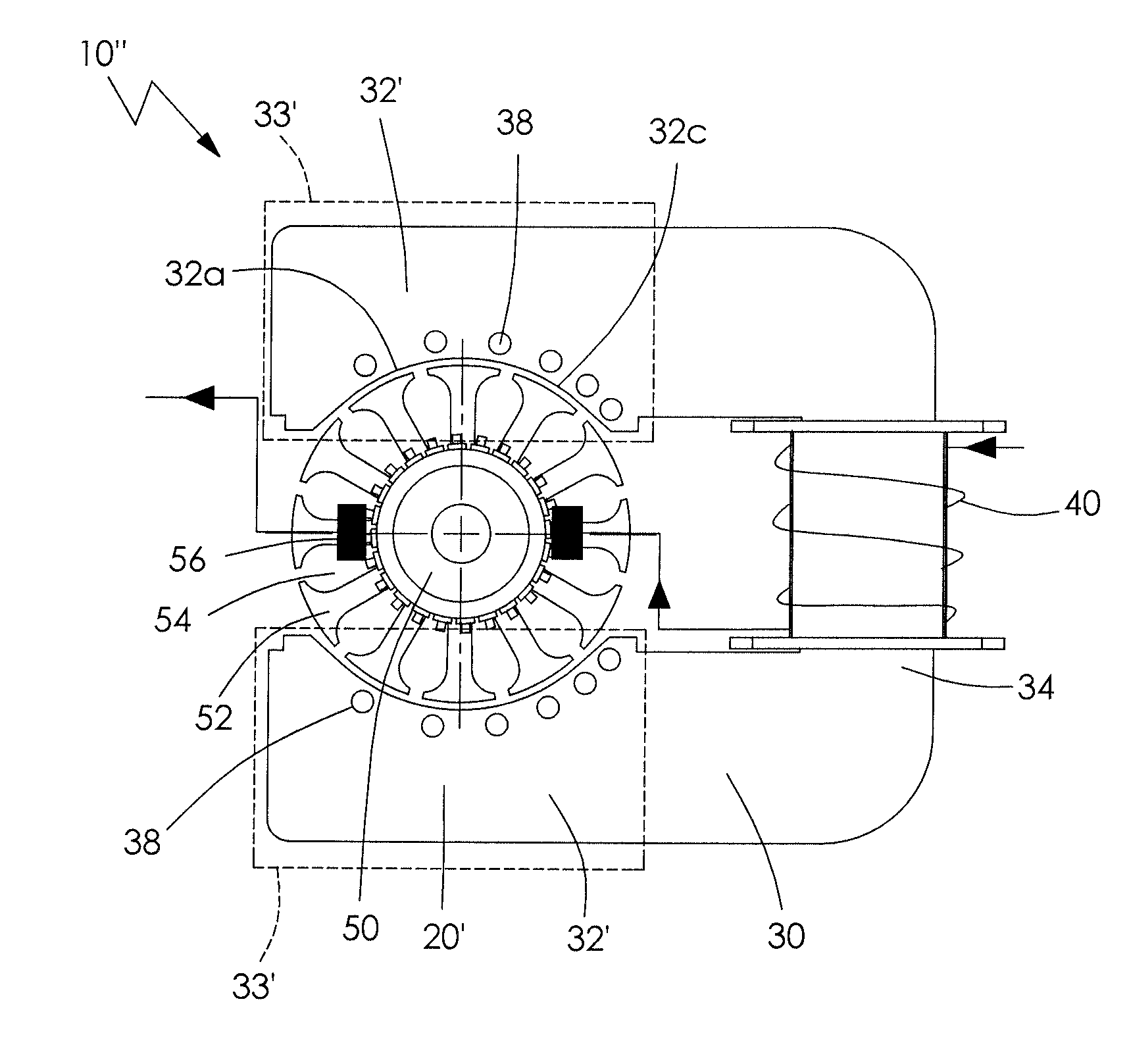 patent us8405273 - electric motor