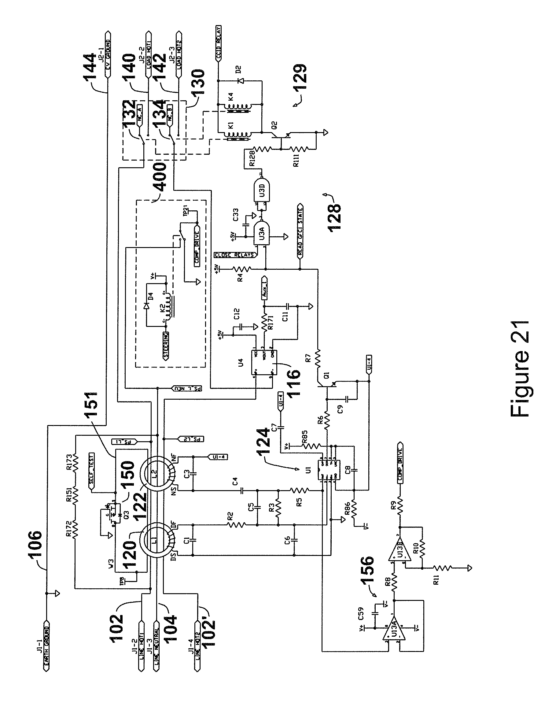 patent us8405939 protective device for an electrical supply Wiring Diagram Symbols patent drawing