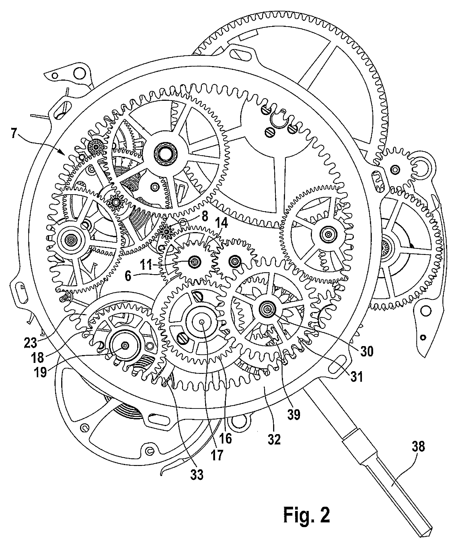 patent us8406087 - watch