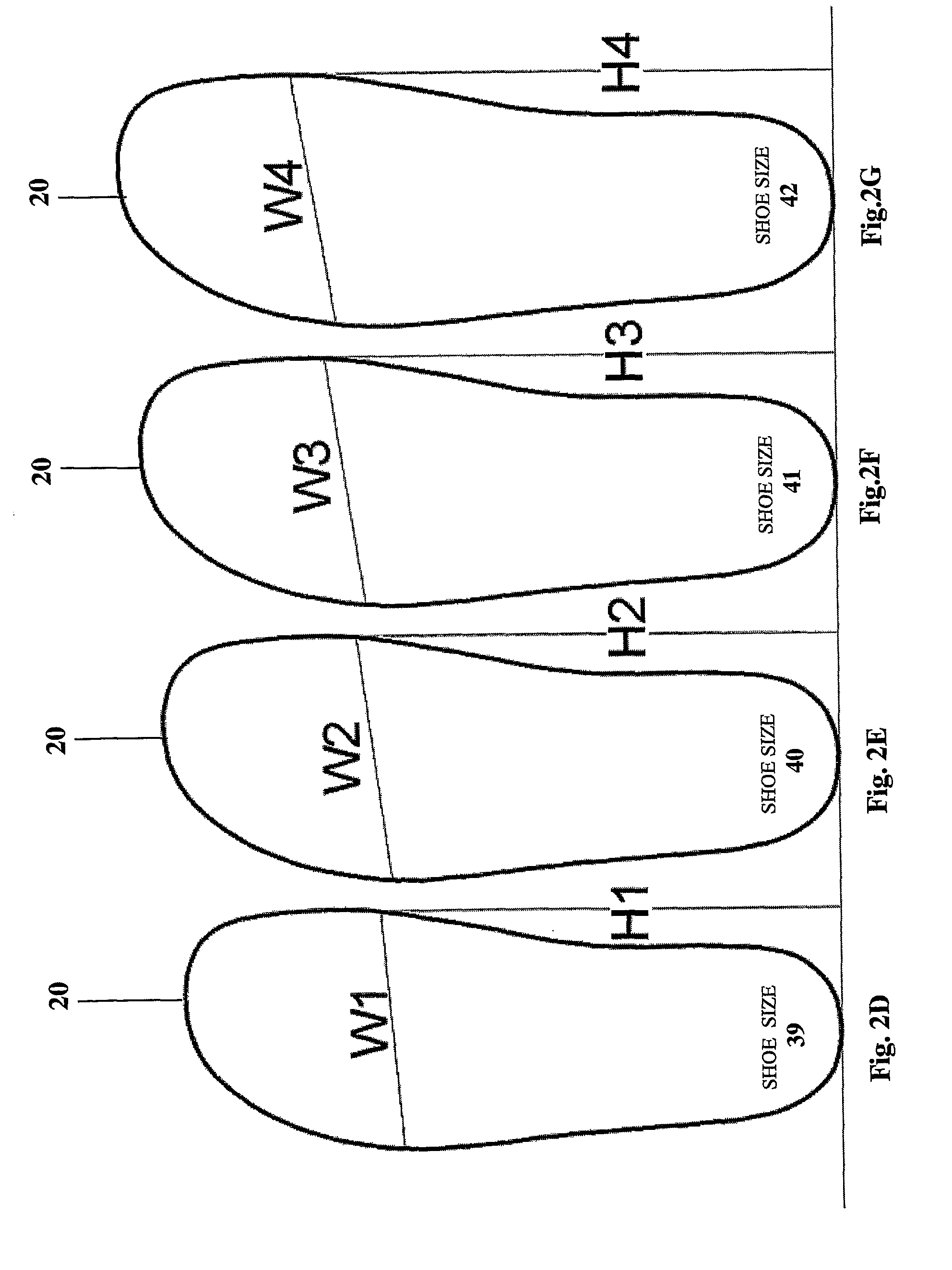 1984 x 2647 png 52kB, Shoe Outline Template Patent us8406454 - method ...