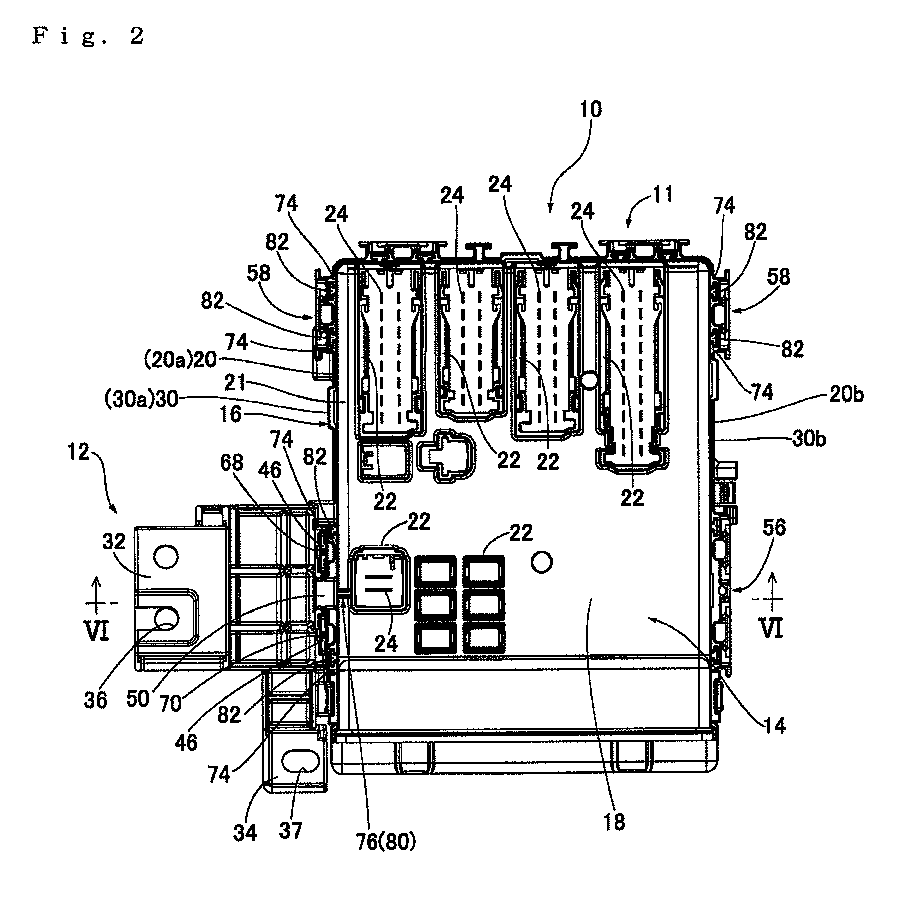 patent us8410361 - electrical junction box