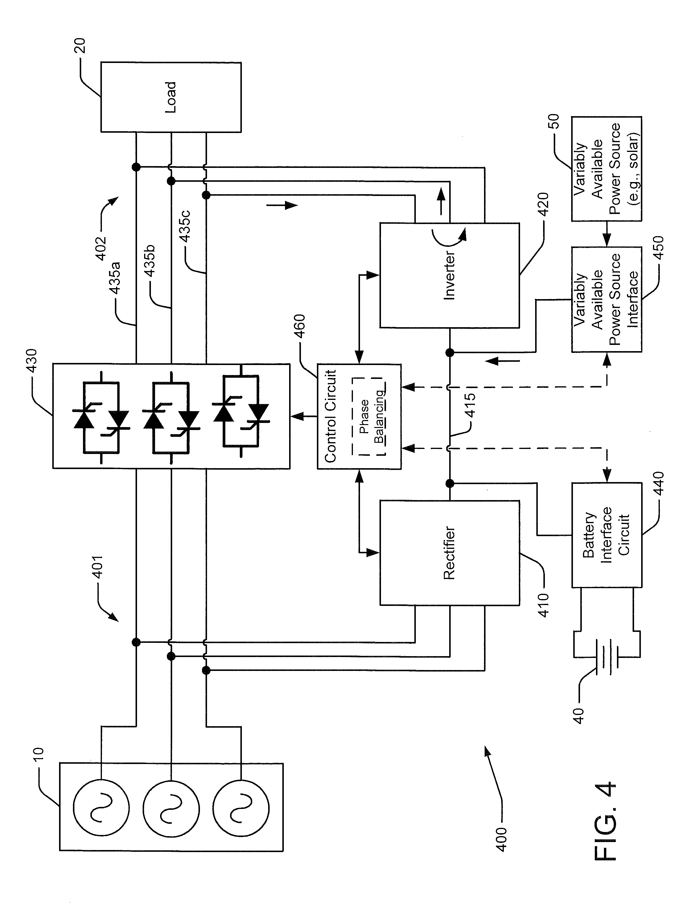 patent us8410638 uninterruptible power supply systems and methods supporting load balancing