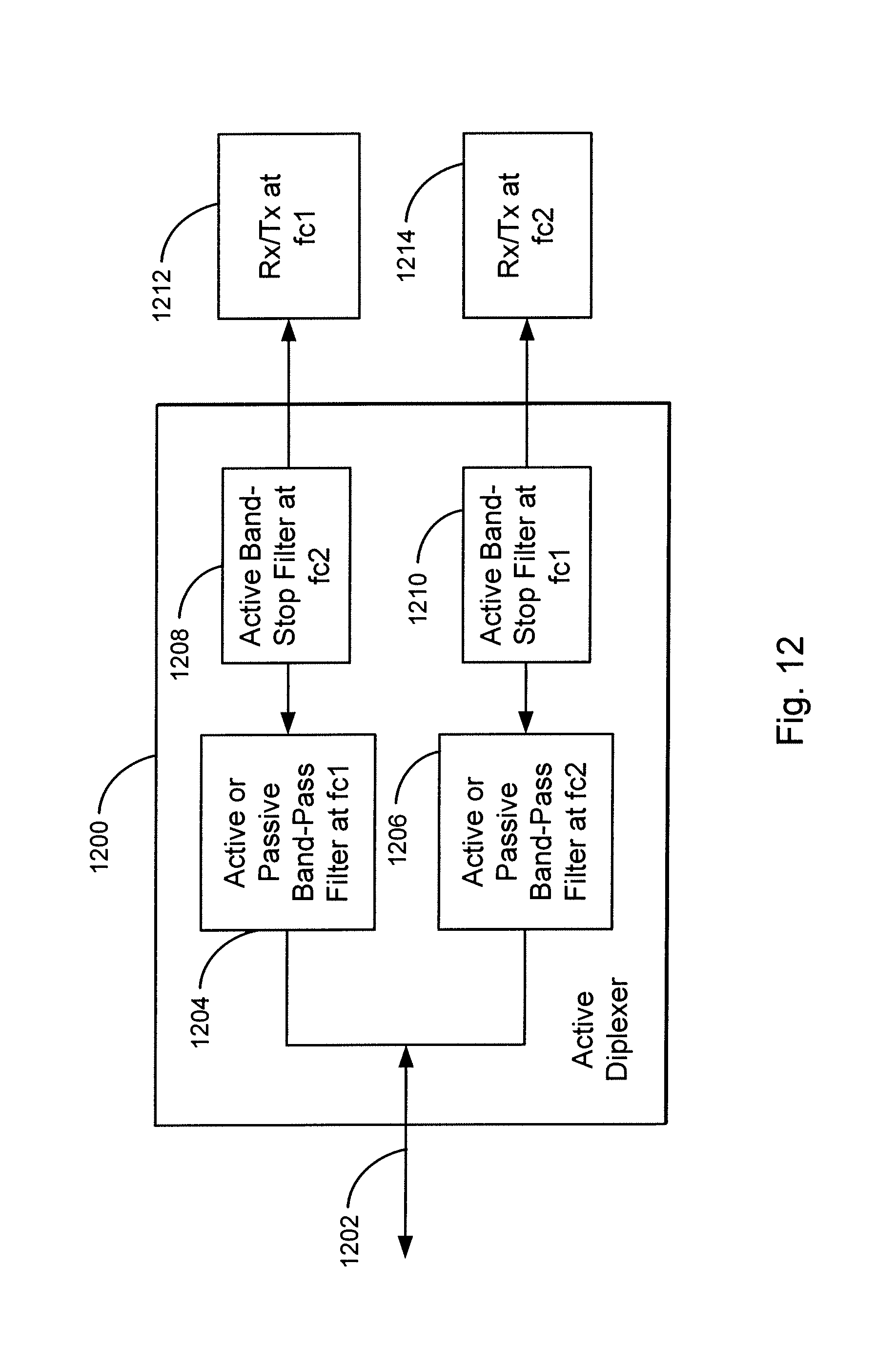 Patent Us8412759 System And Method For Active Diplexers Google Band Stop Filter Circuit Drawing