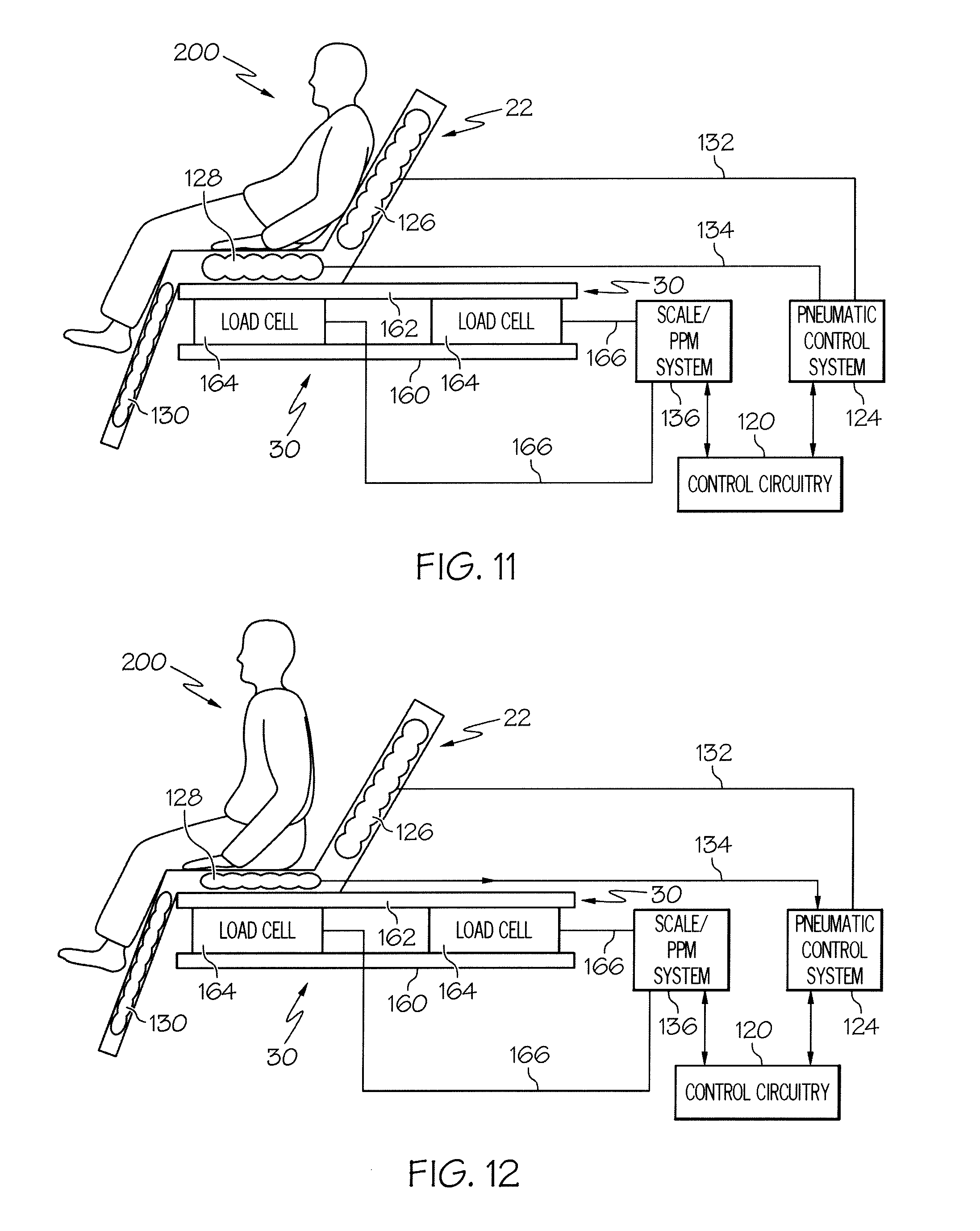 Patent Us8413273 Control Of Hospital Bed Chair Egress