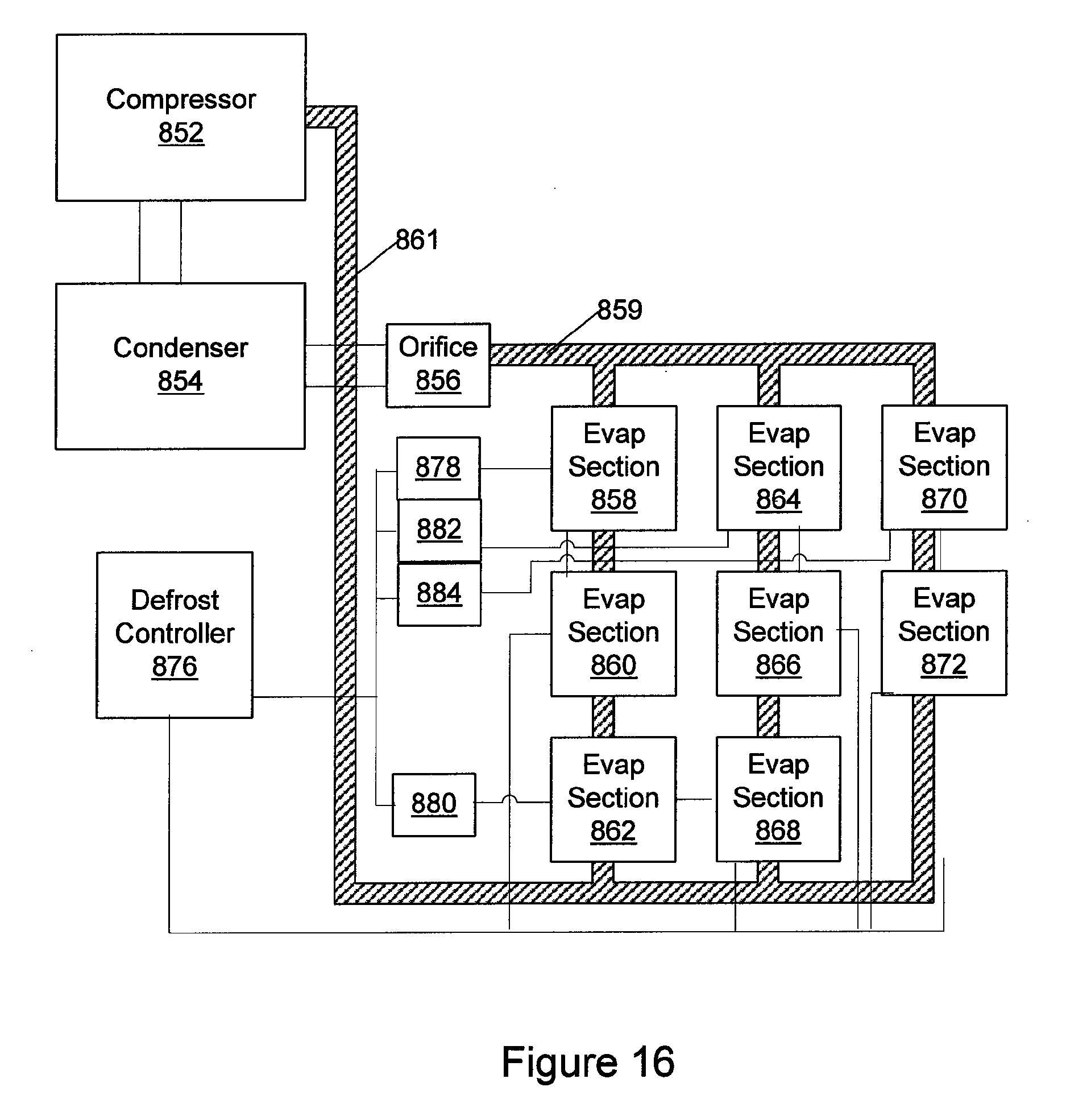 patent us8424324 refrigerant evaporators pulse patent drawing