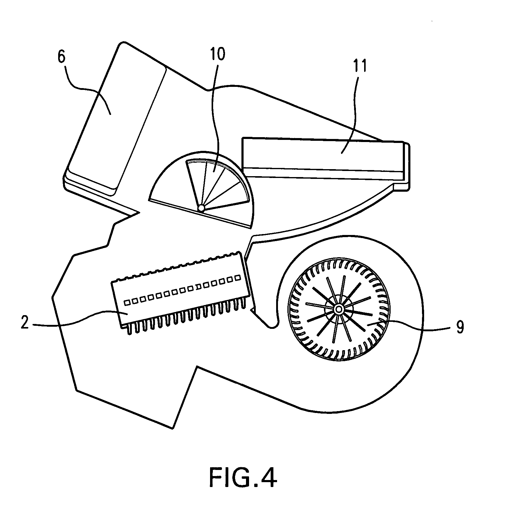 patent us  integrated vehicle hvac system  google patents, wiring diagram