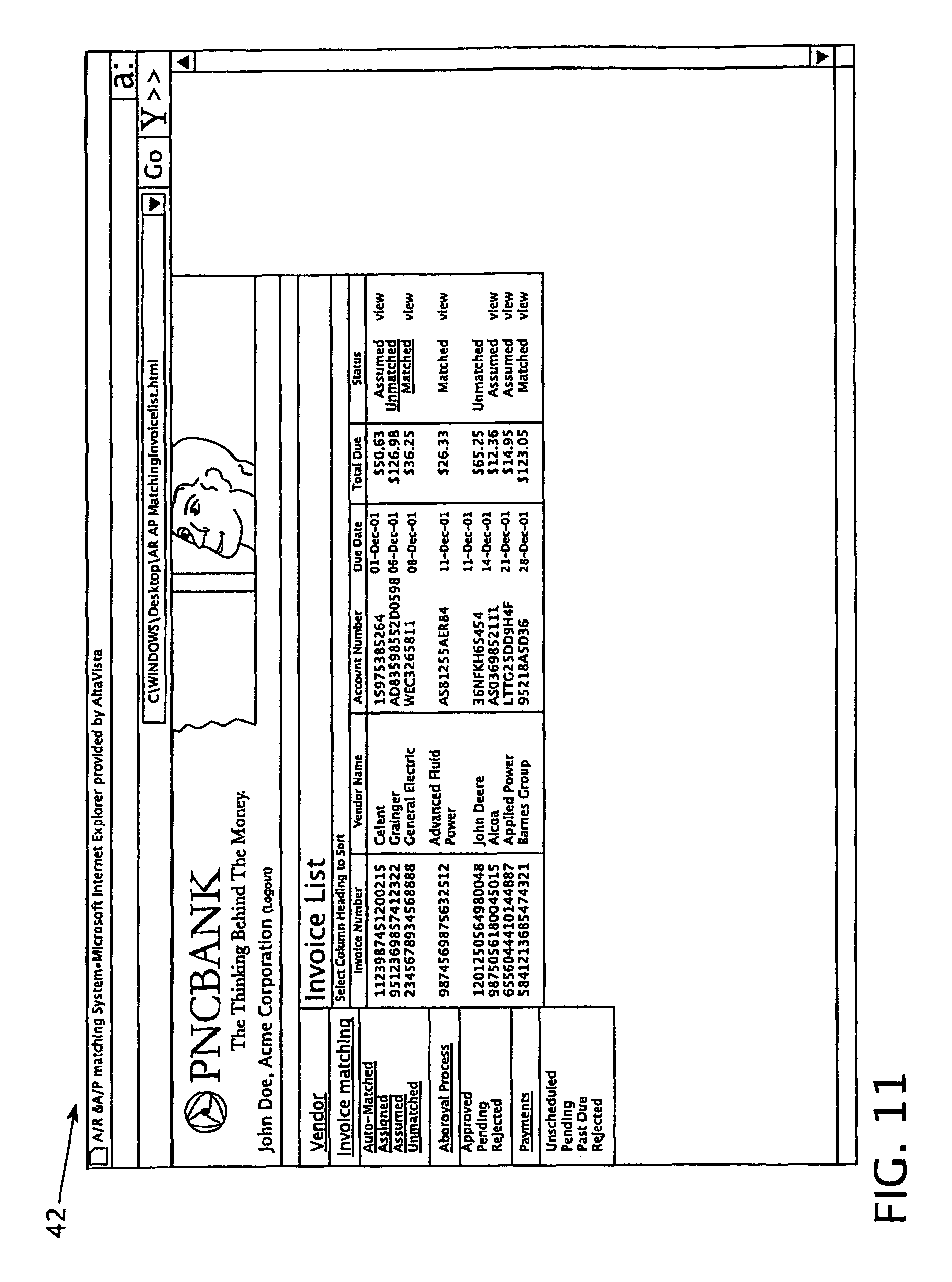 Receipt Organization Patent Us  Accounts Payable Process  Google Patents Samples Of Invoices For Payment Excel with Property Payment Receipt Format Patent Drawing Invoicing Online Pdf