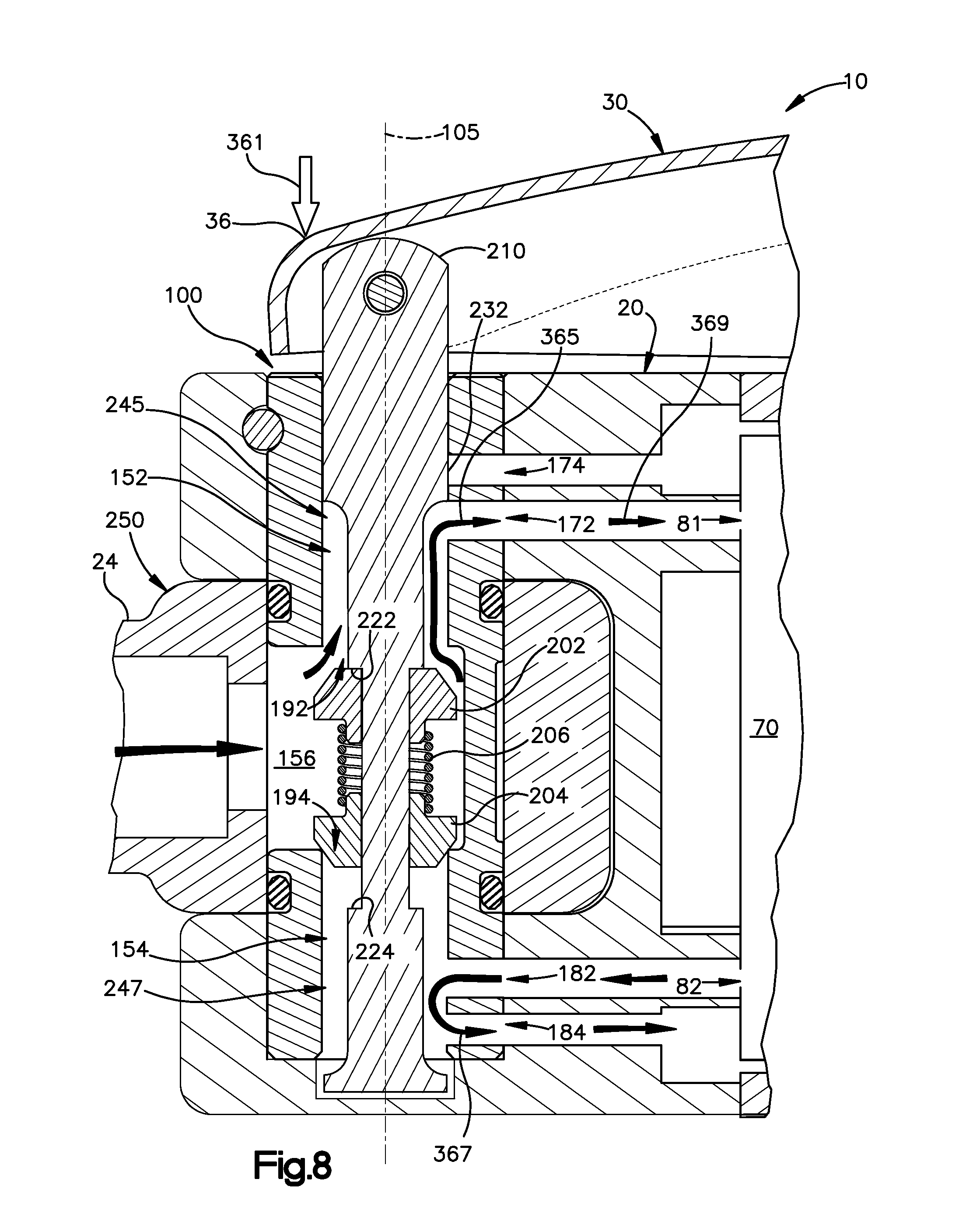 patent us8430184 - valve for a pneumatic hand tool - google patents, Wiring diagram