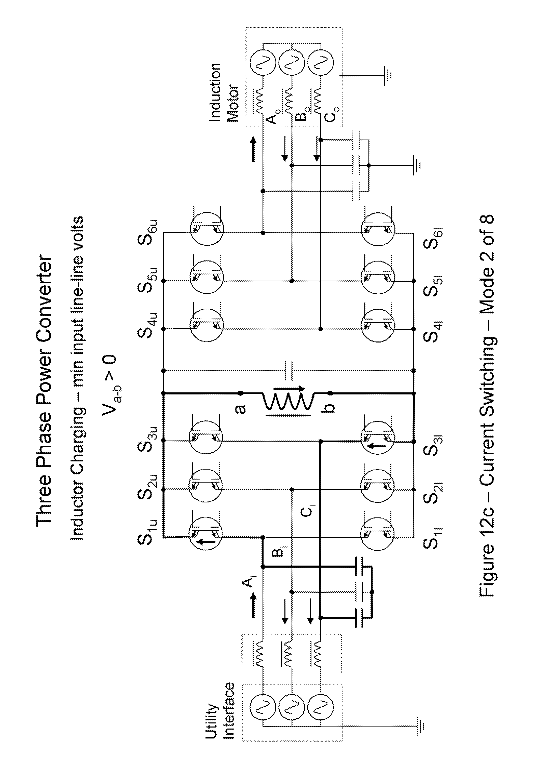 Patent Us8432711 Power Transfer Devices Methods And Systems With Electronic Crowbar For Ac Dc Lines Drawing