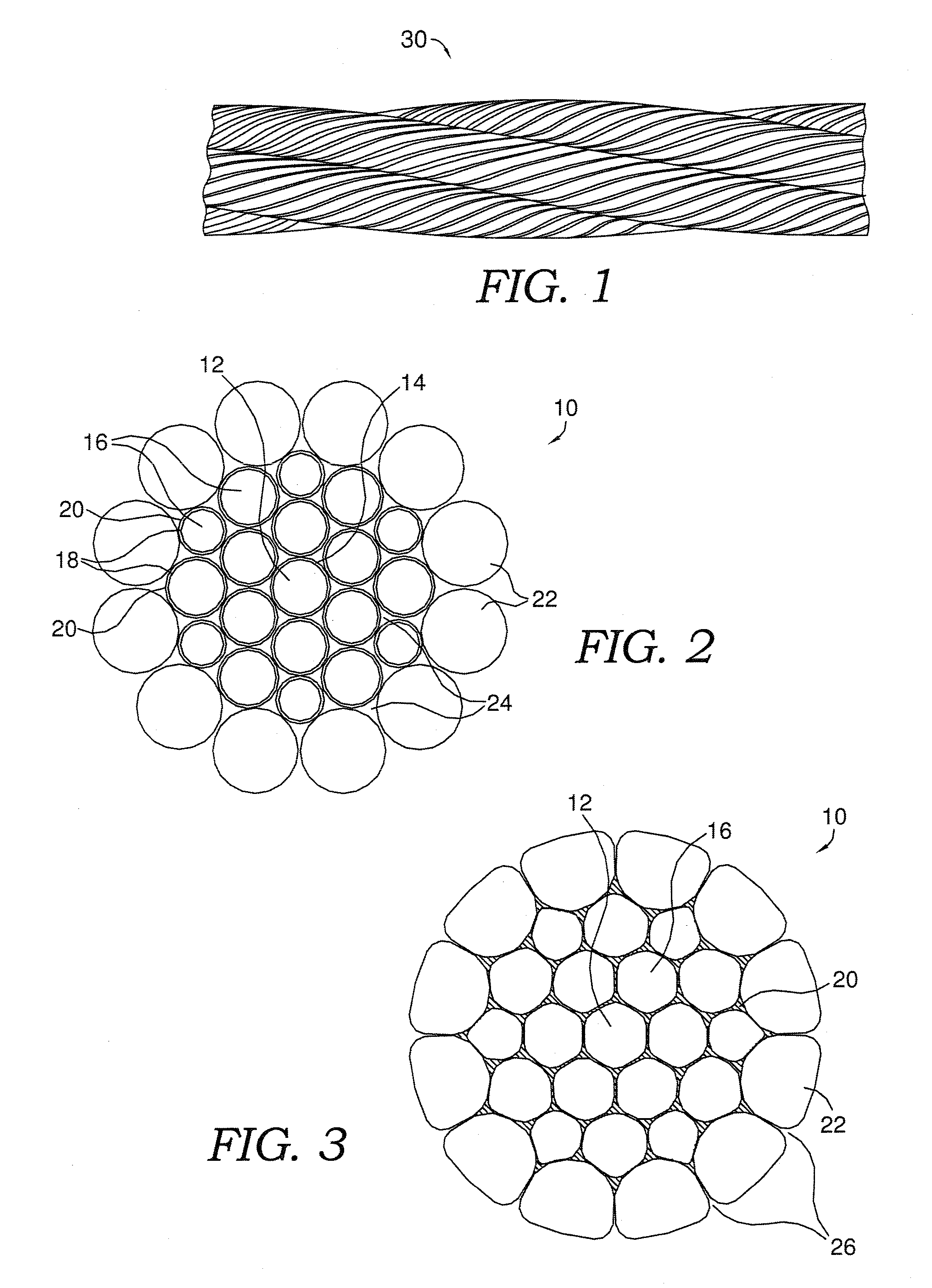 Patent US8438826 - Four strand blackened wire rope - Google Patents