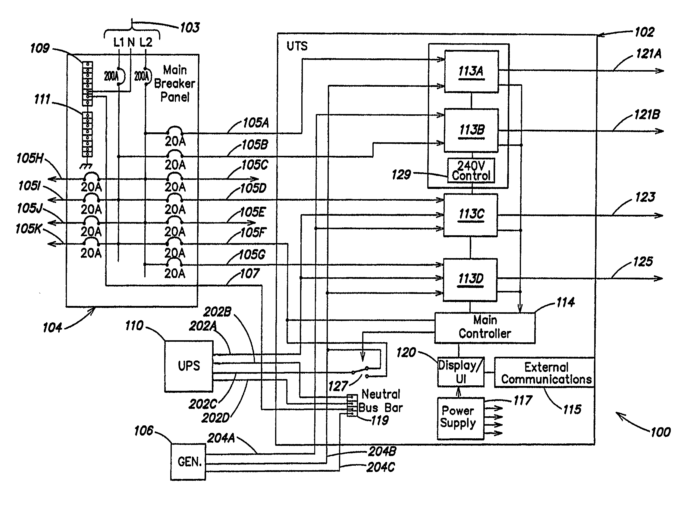 Patent us system and method for allocating power
