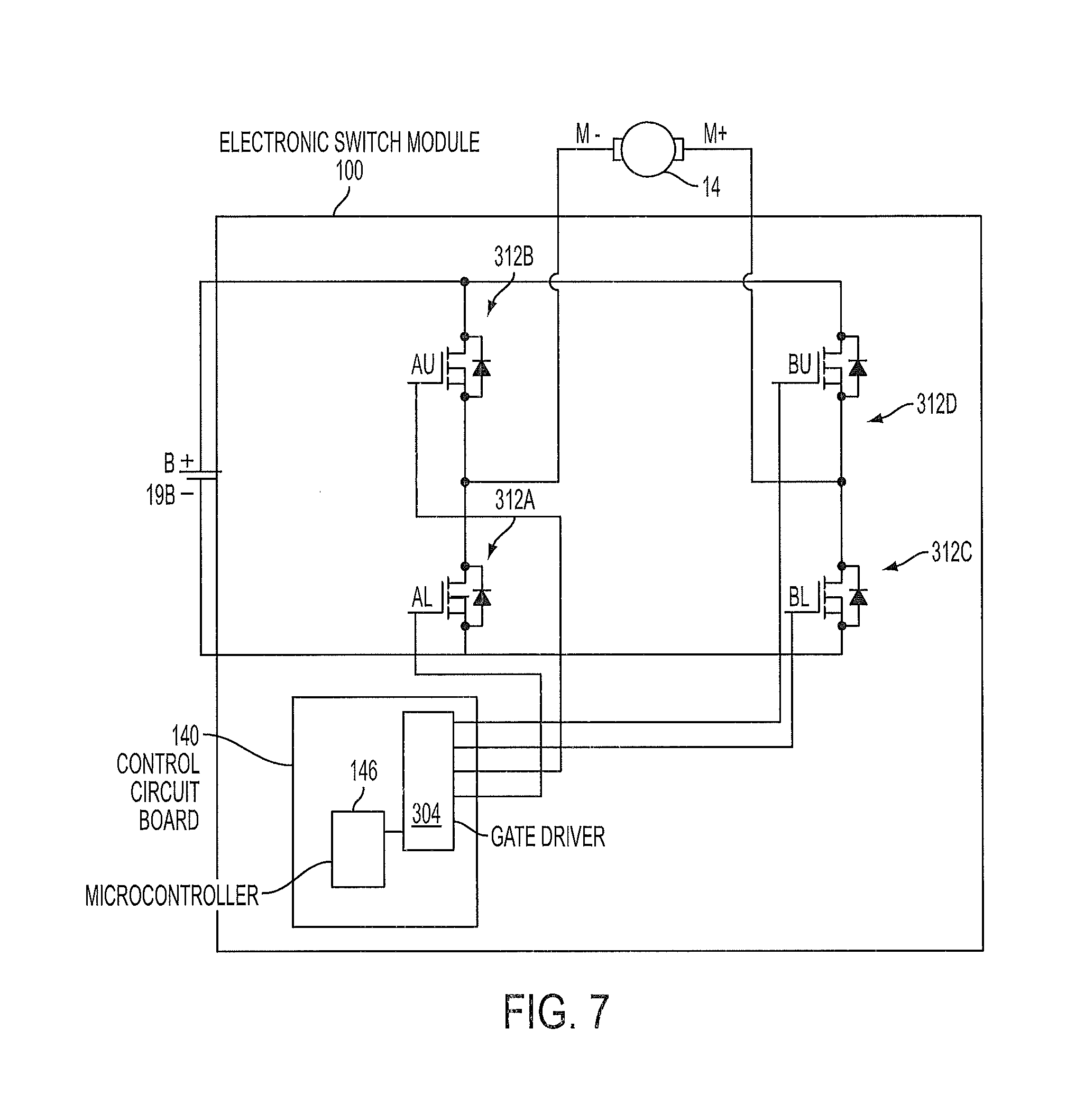 patent us8446120 electronic switching module for a power tool patent drawing