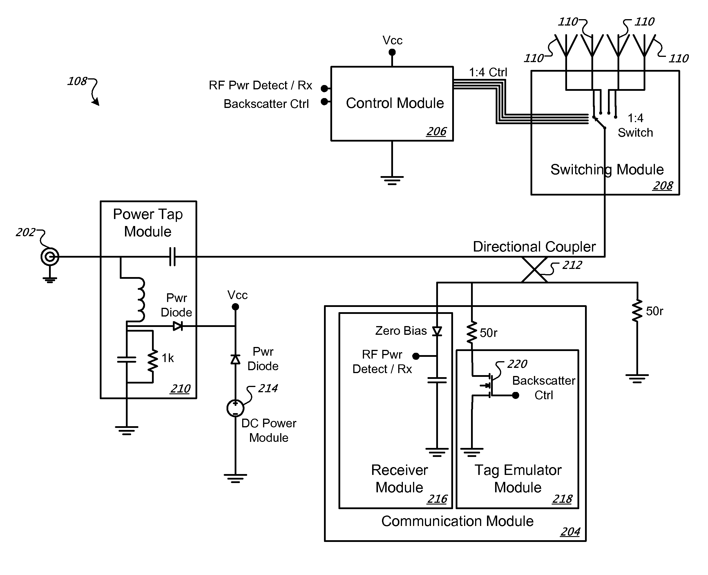 Patent Us8446256 Multiplexing Radio Frequency Signals Google Patents Circuit Gpsreceiver Communicationcircuit Diagram Drawing