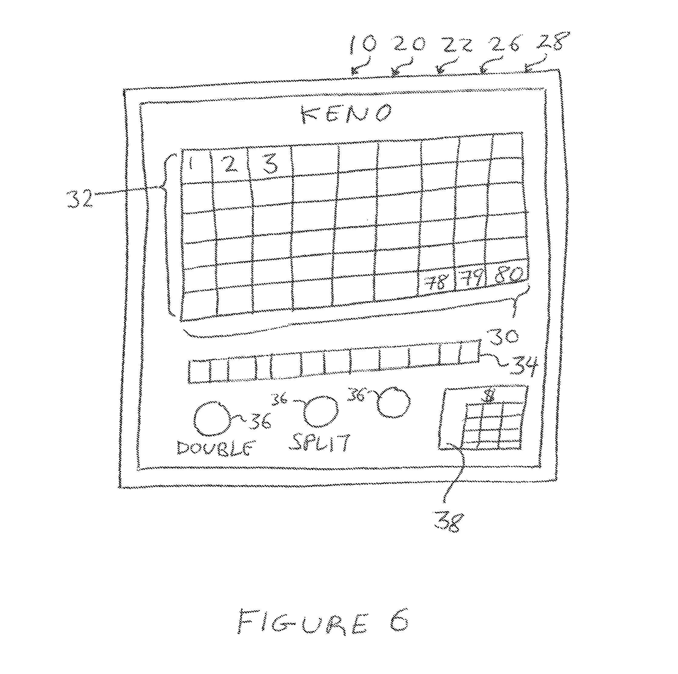 Patent US8449369 - Method for electronic gaming including player ...