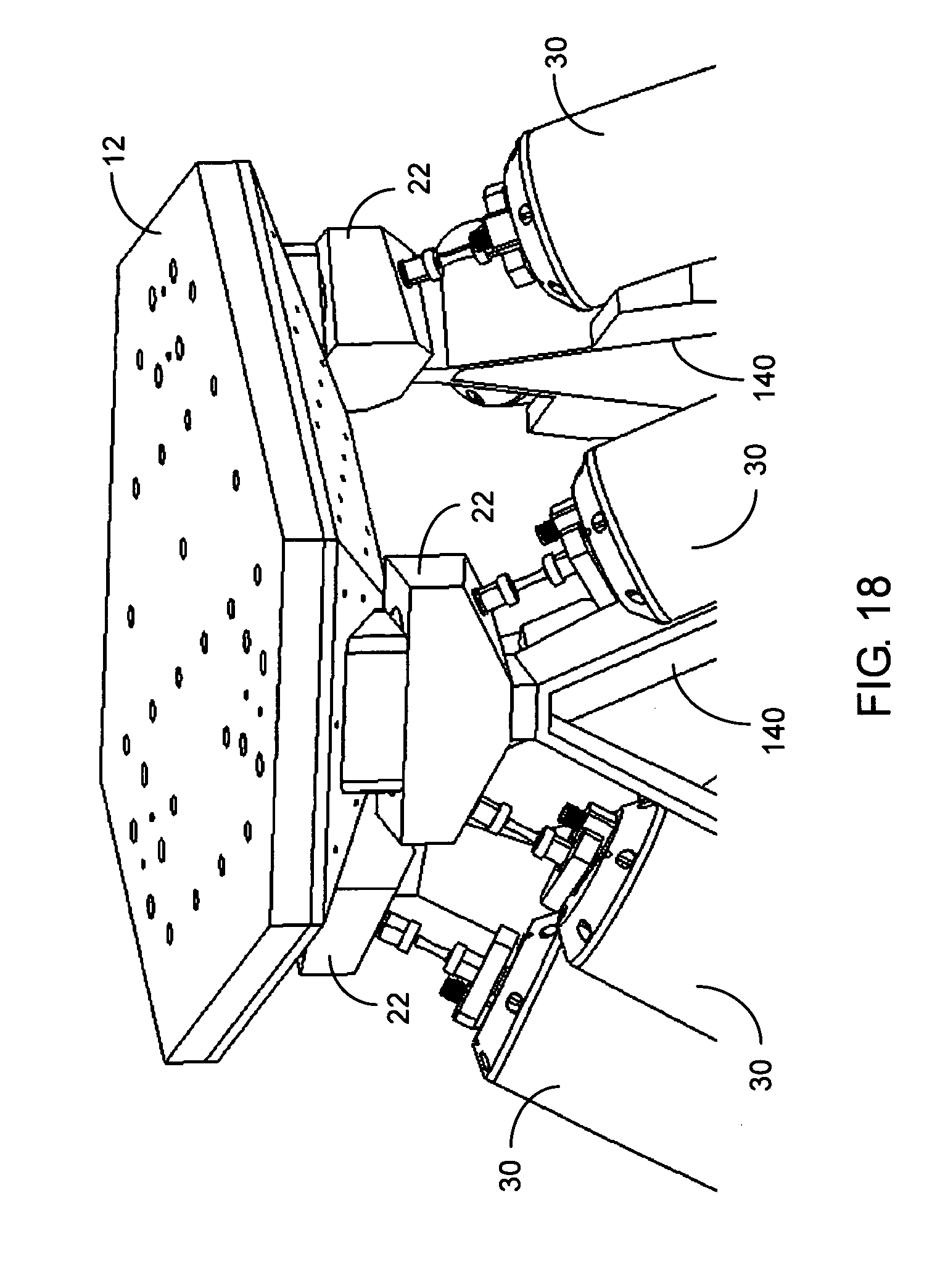 Patent Us8453512 High Frequency Hexapod Six Degree Of Freedom Drive System Diagram Parts List For Model 604 Mtdparts Ridingmower Drawing