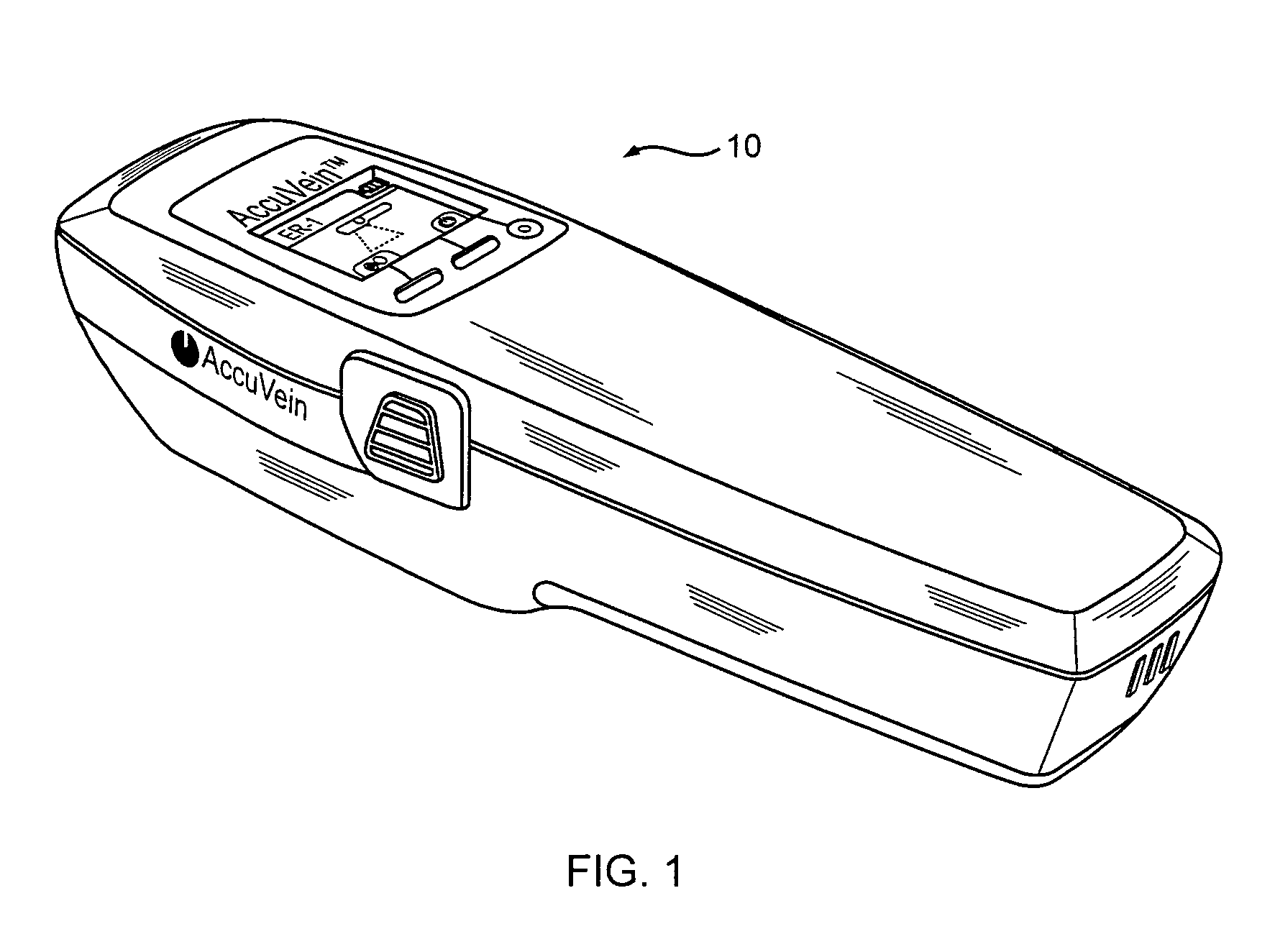 patent us8463364 - vein scanner