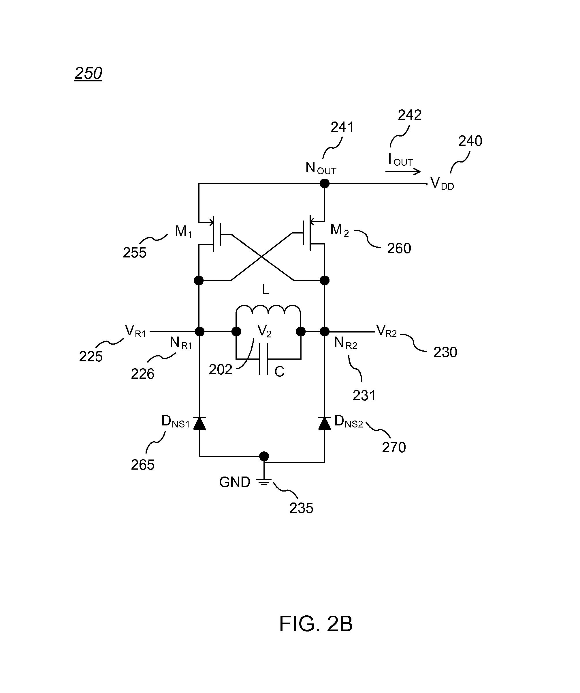 patent us8472221 - high voltage rectifier using low voltage cmos process transistors