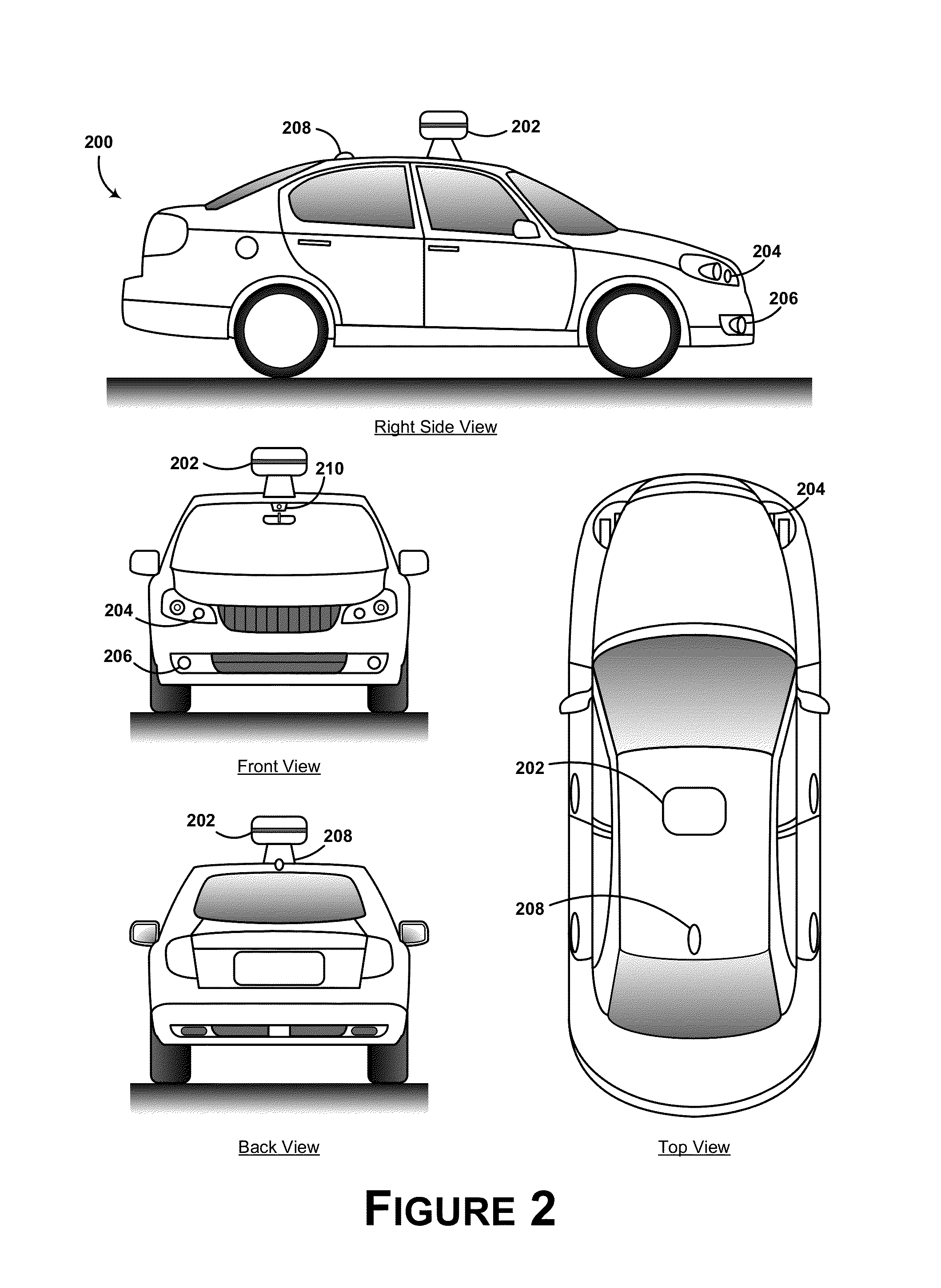 patent us controlling vehicle lateral lane positioning patent drawing