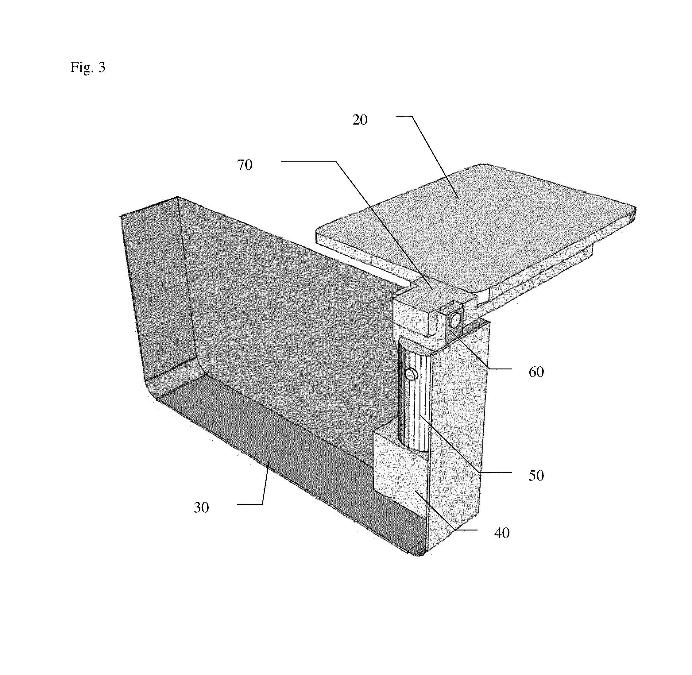 Patent Us8474384 Folding Armrest Tray For Wheelchairs