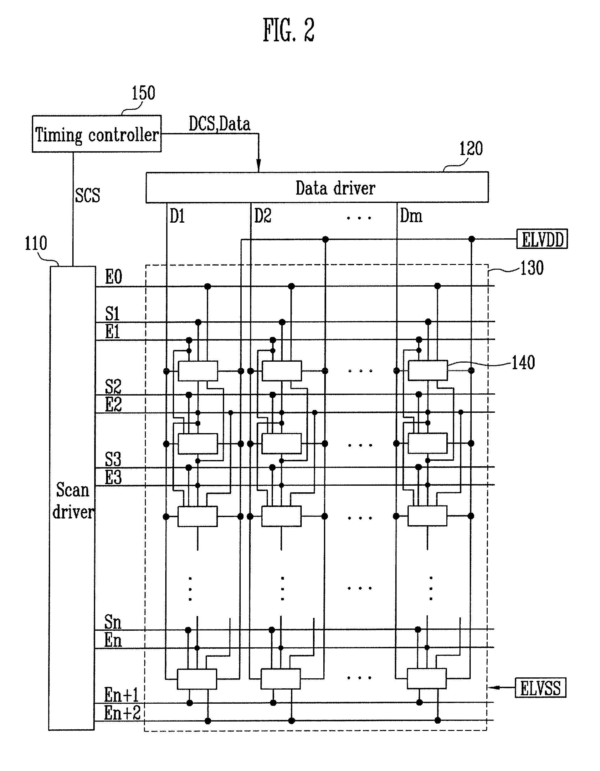 Patent Us8482495 Pixel And Organic Light Emitting Display Having A Mth Tiu Wiring Diagram Drawing