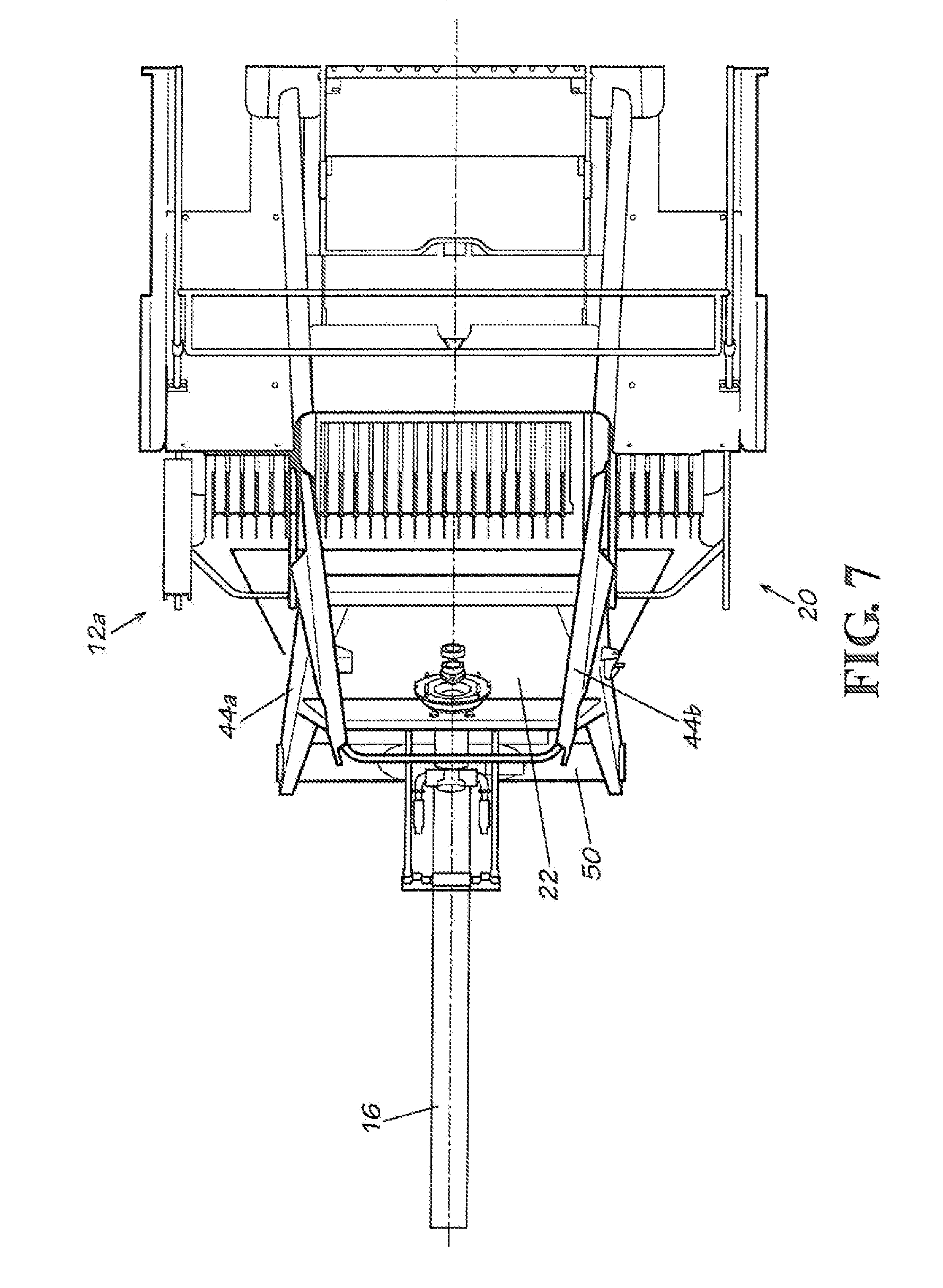 patent us8490375 baler collector for collecting biomass from a patent drawing