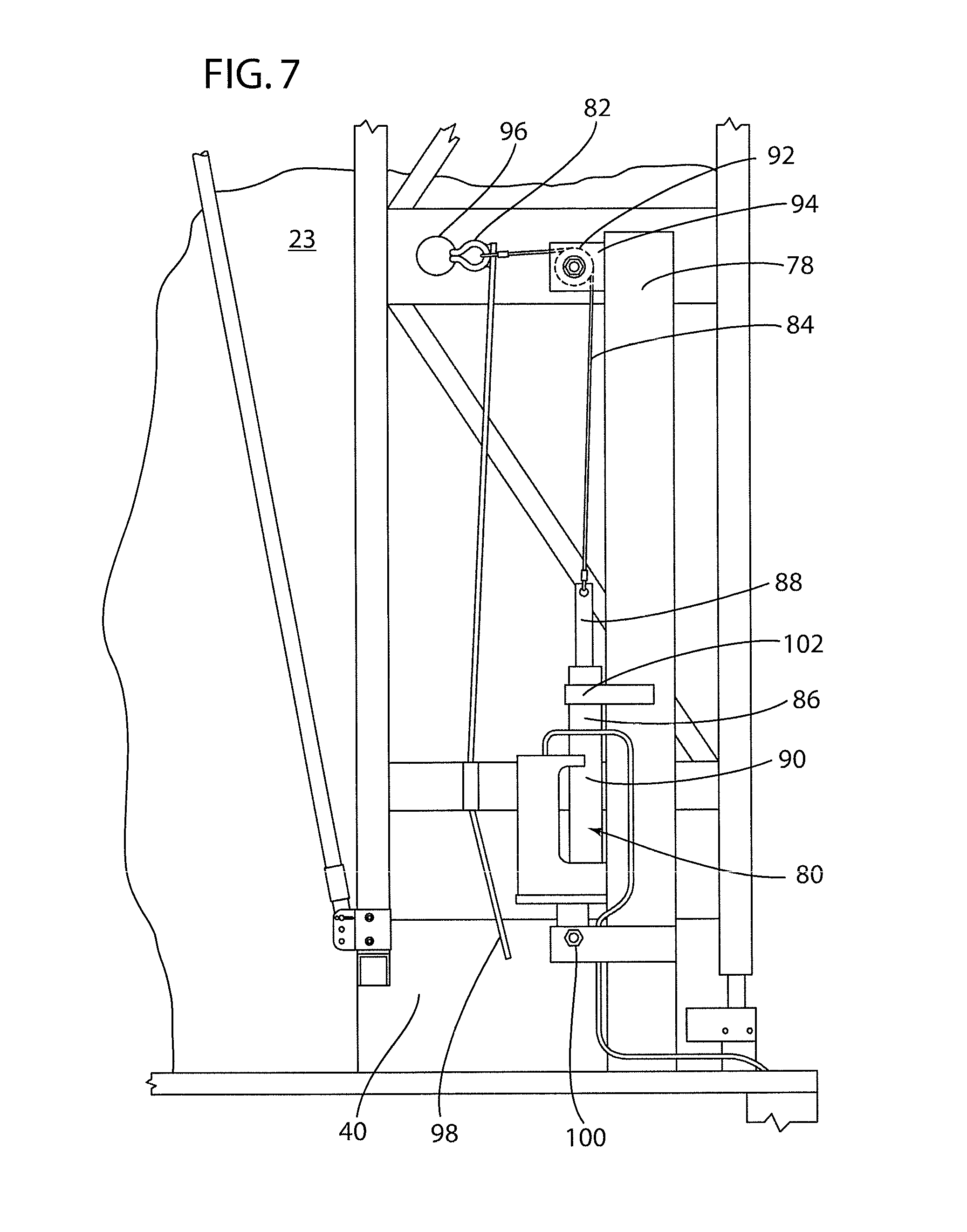 patent us8491032 retractable tarp system automated closing patent drawing