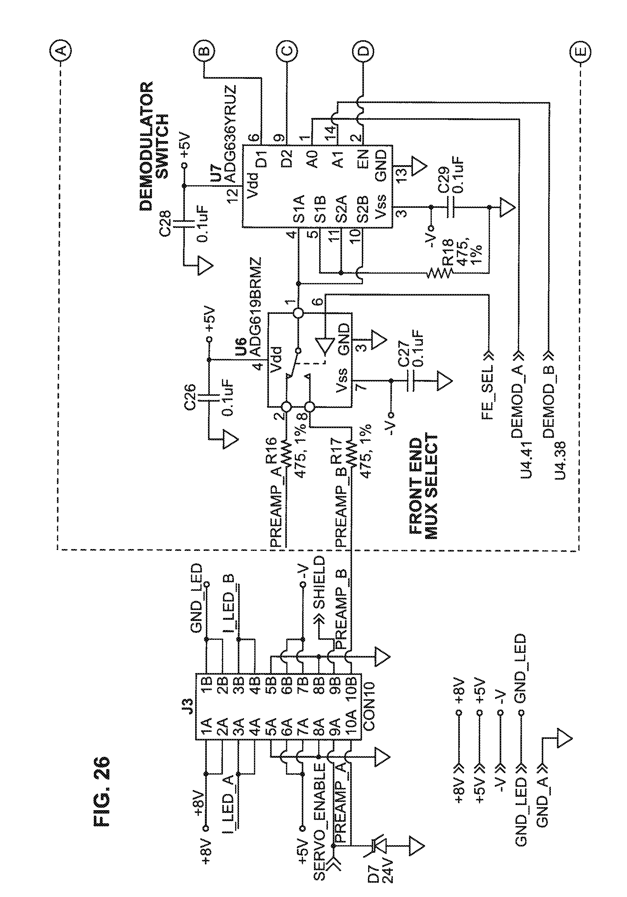 Patent Us8491178 Instruments And Methods For Mixing The Contents Band Spectrum Analyzer Circuit Using Op Amps Scorpionz Drawing
