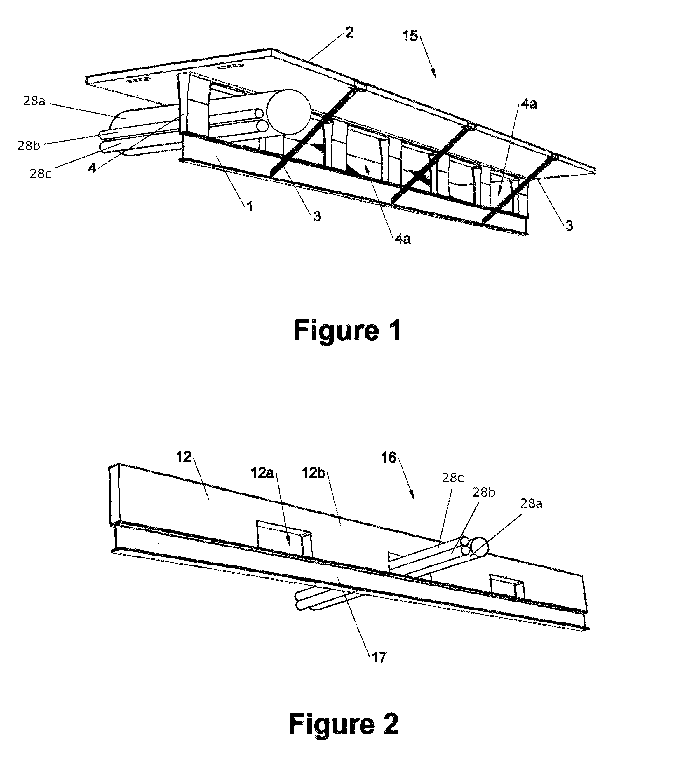 patent us8499511 - precast composite structural floor system