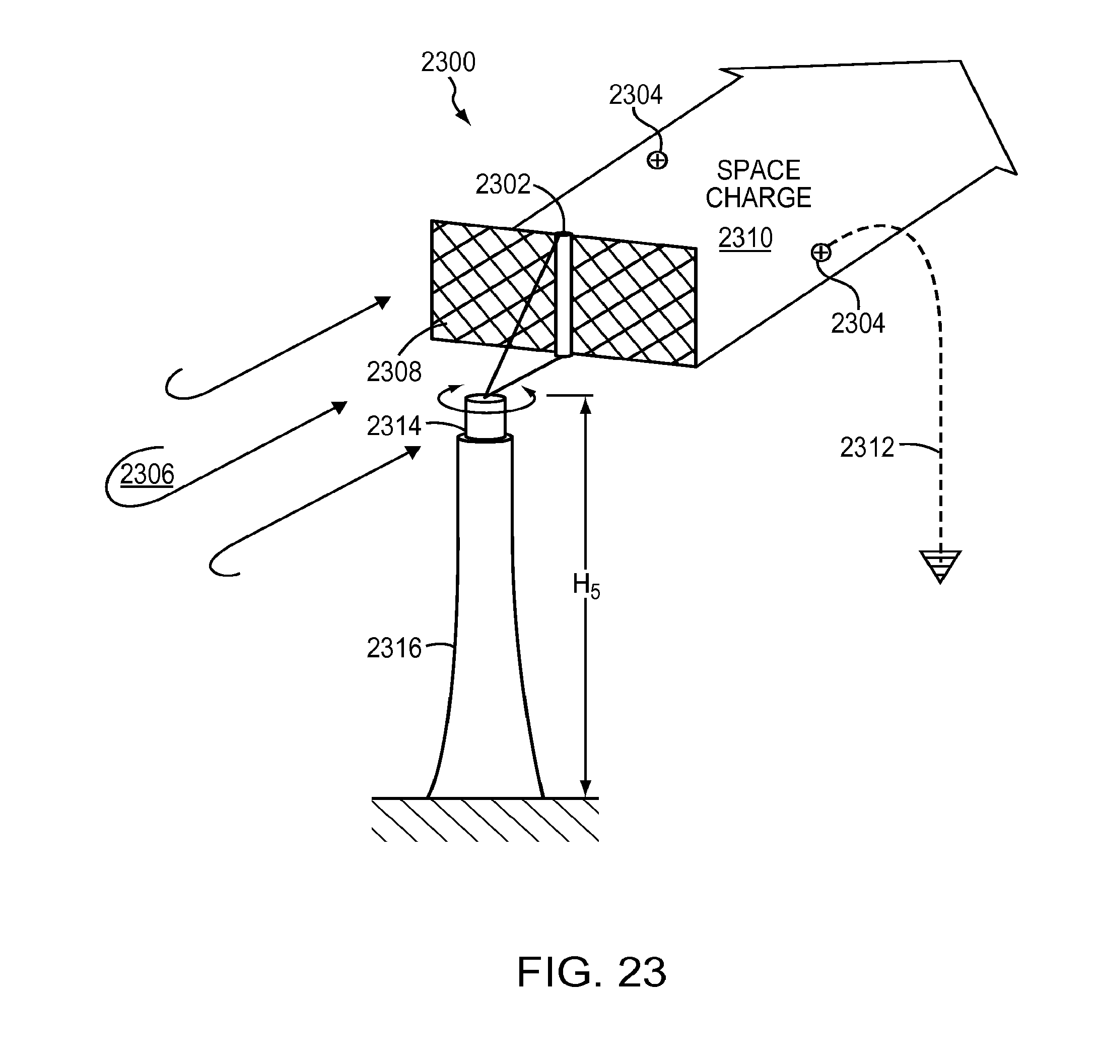 patent us8502181 electro hydrodynamic wind energy system