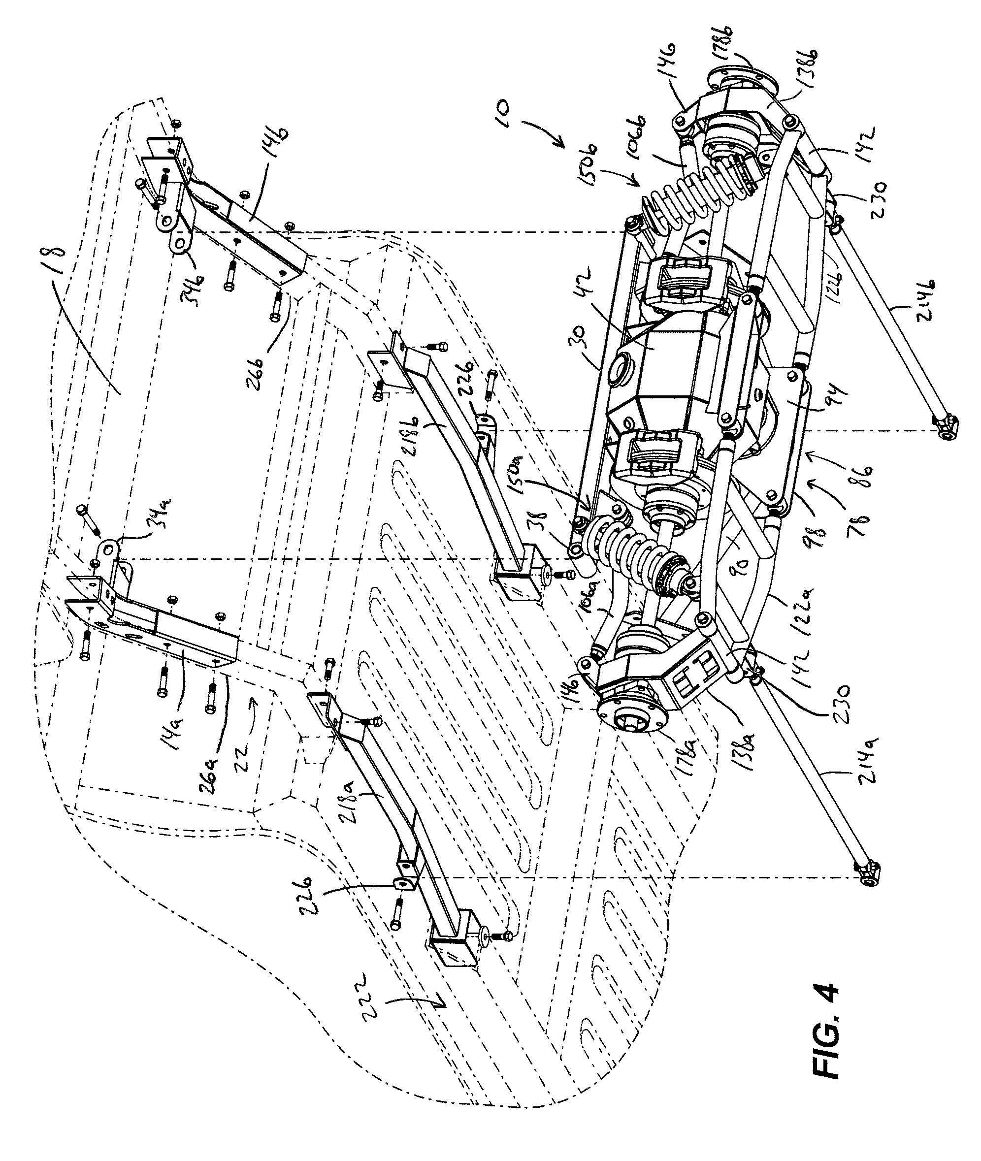 Patent Us8517140 Independent Rear Suspension Kit Google Patents Case 1840 Wiring Diagram Drawing