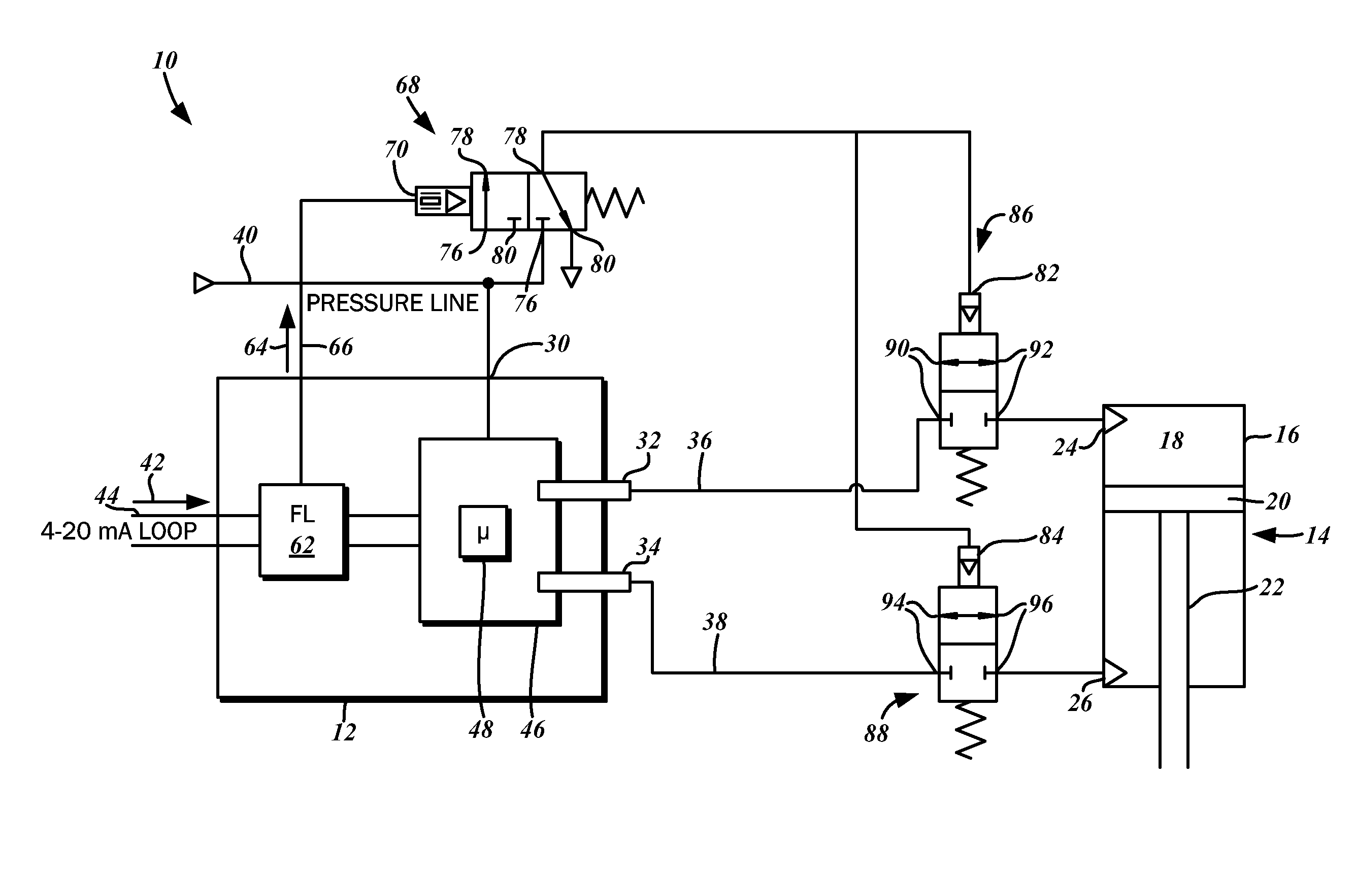 Electro Freeze Wiring Diagram Control Patent Us8517335 Fail Device For Positioner
