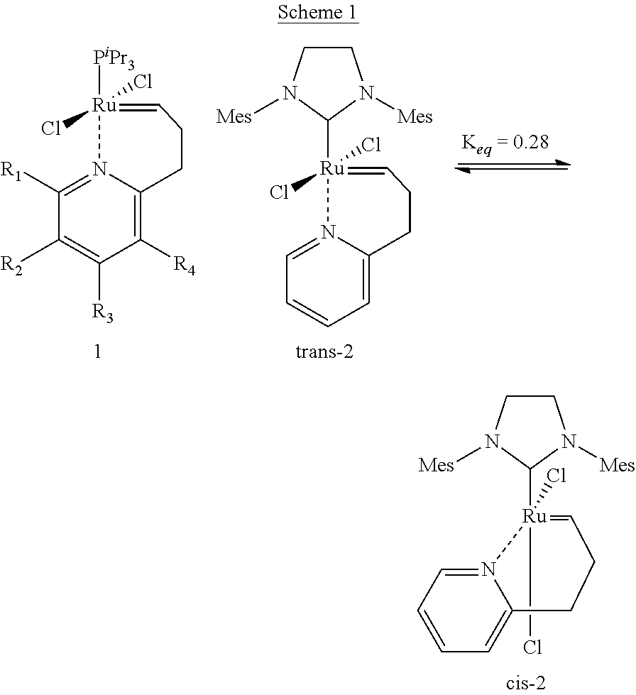 thermally stable latent olefin metathesis catalysts However, metathesis catalysts can be  when a bulkier olefin, 1   157 c–h insertion can also occur if the catalyst is not thermally stable in.