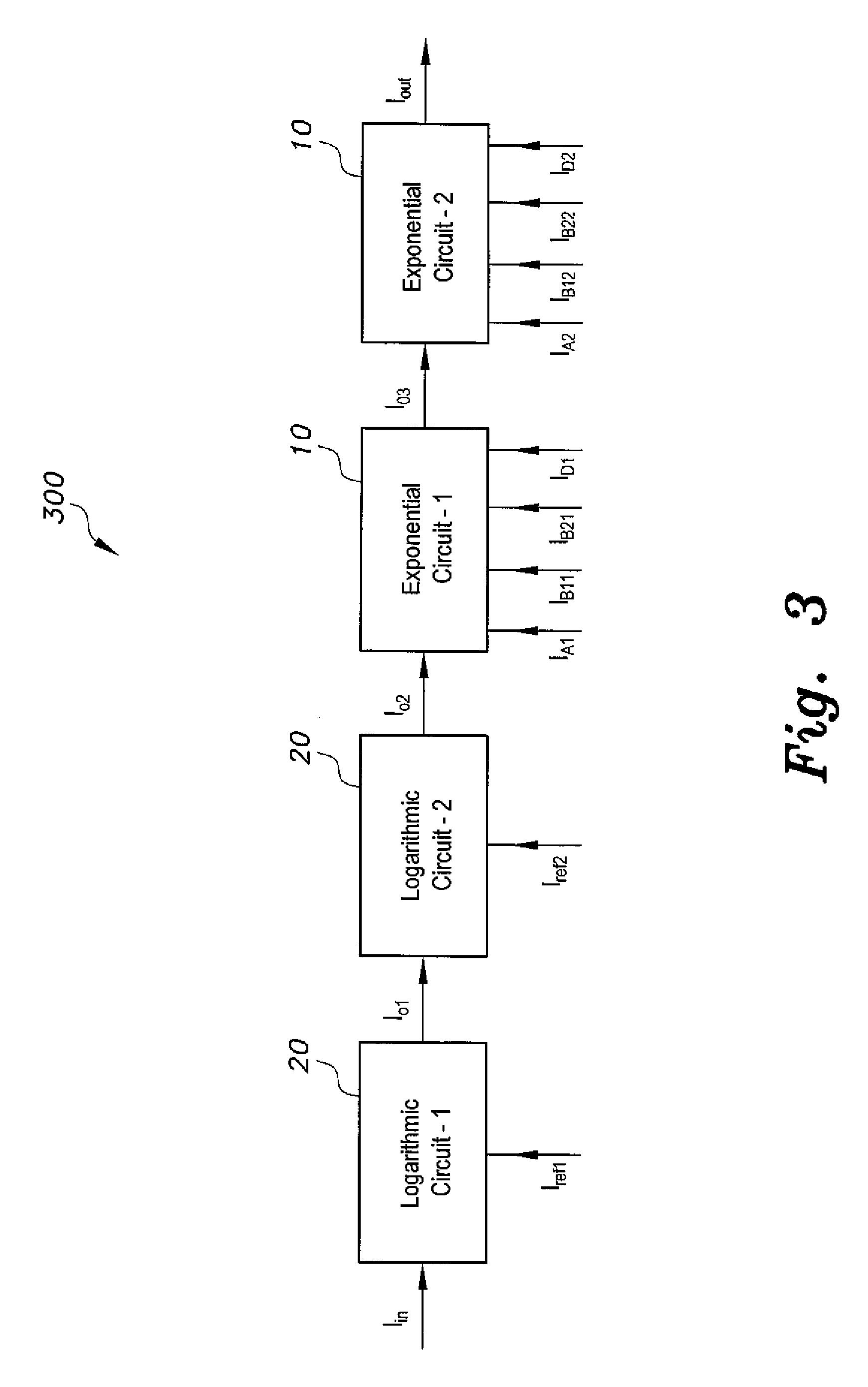 patent us8521802 - arbitrary power law function generator