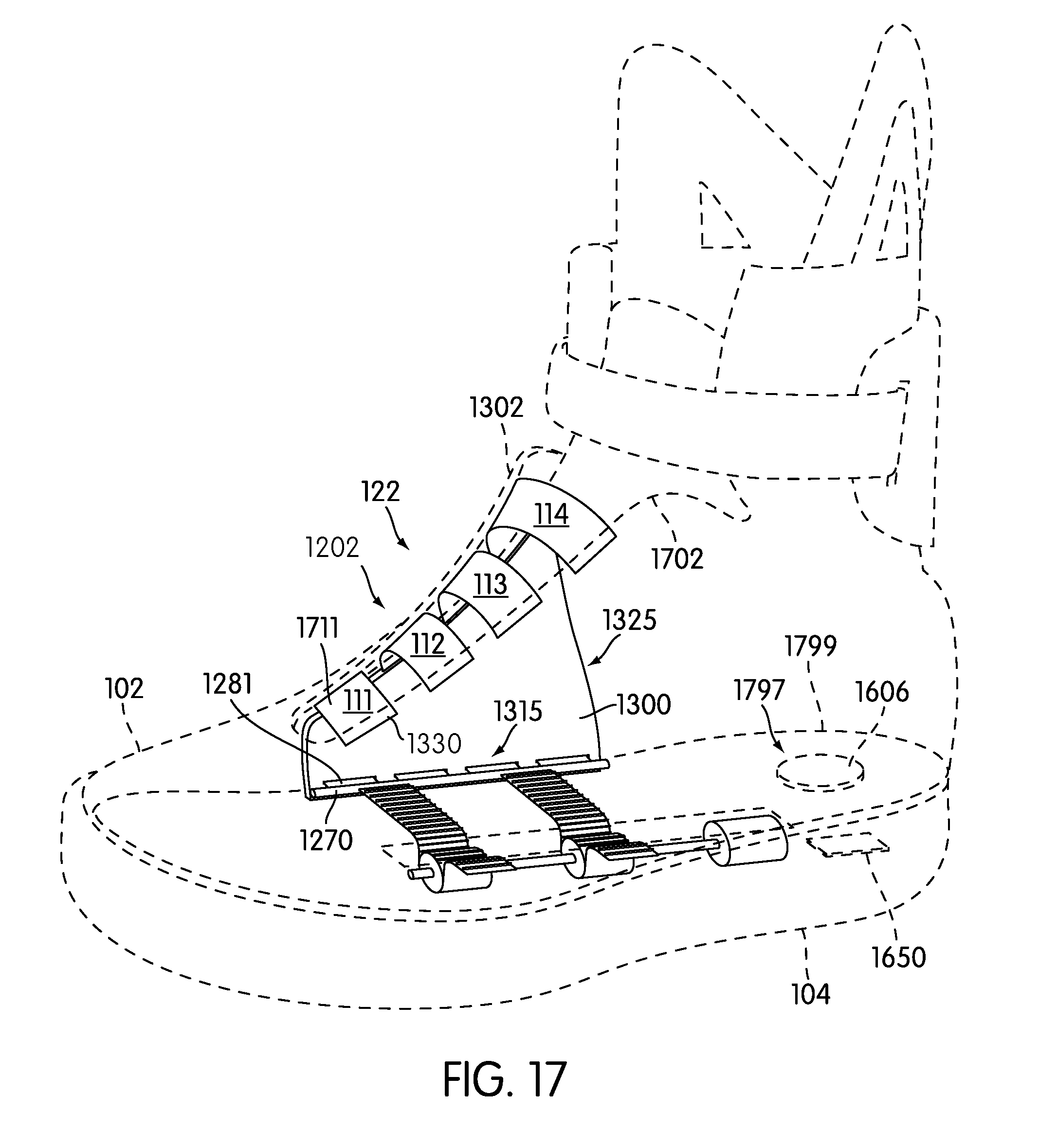 patent us8522456 automatic lacing system google patents